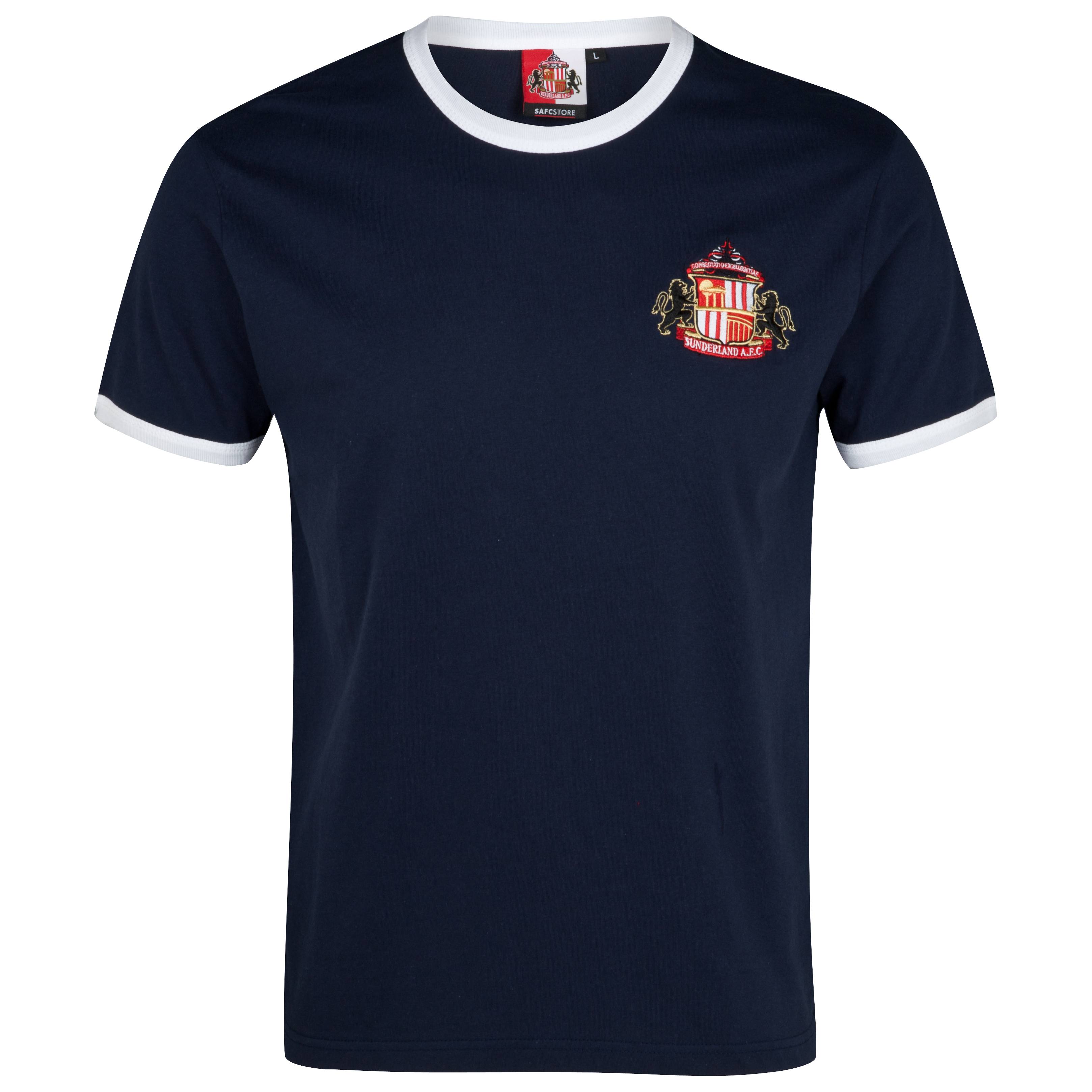 Sunderland Essential Trim T-Shirt - Navy