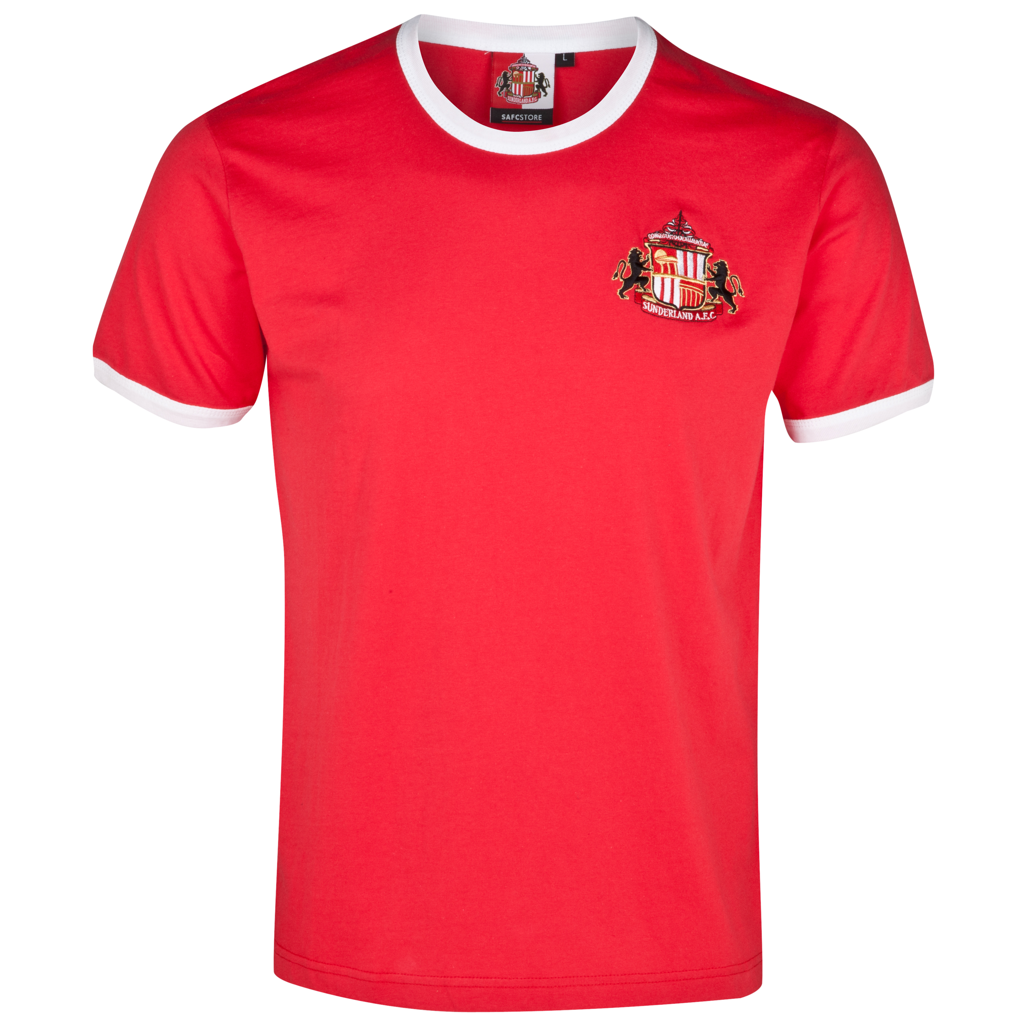 Sunderland Essential Trim T-Shirt - Red