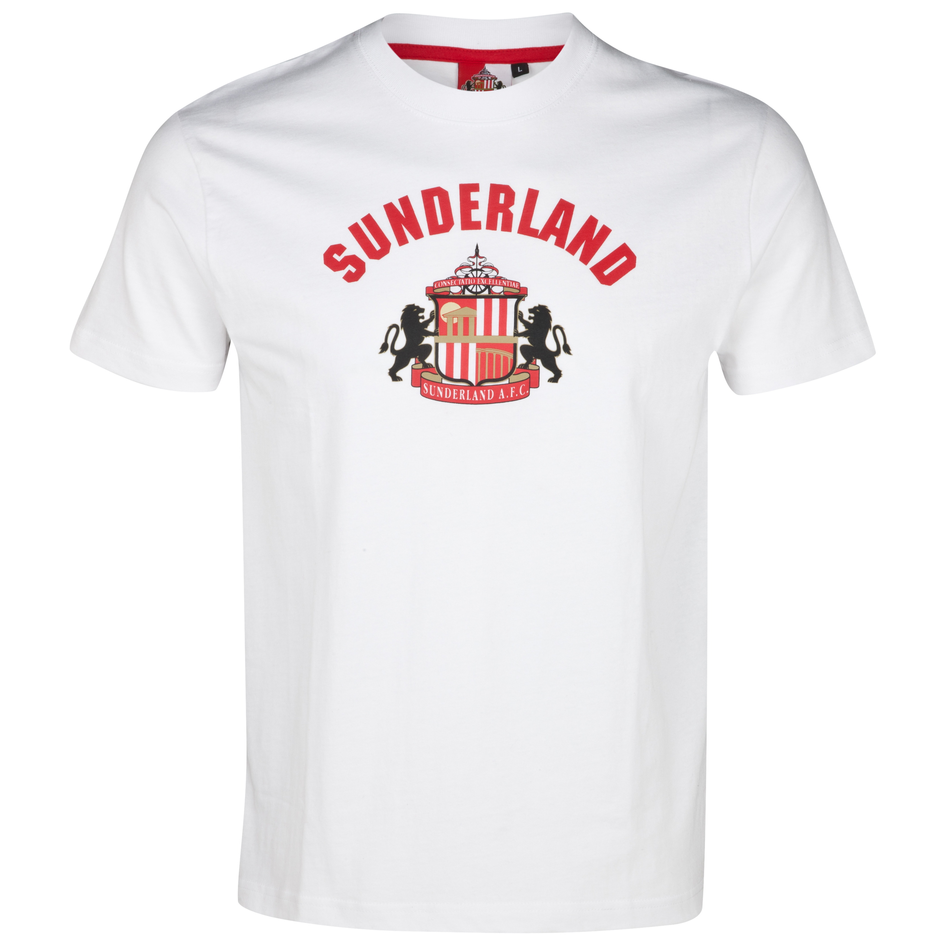 Sunderland Essential Force T-Shirt - White - Older Boys