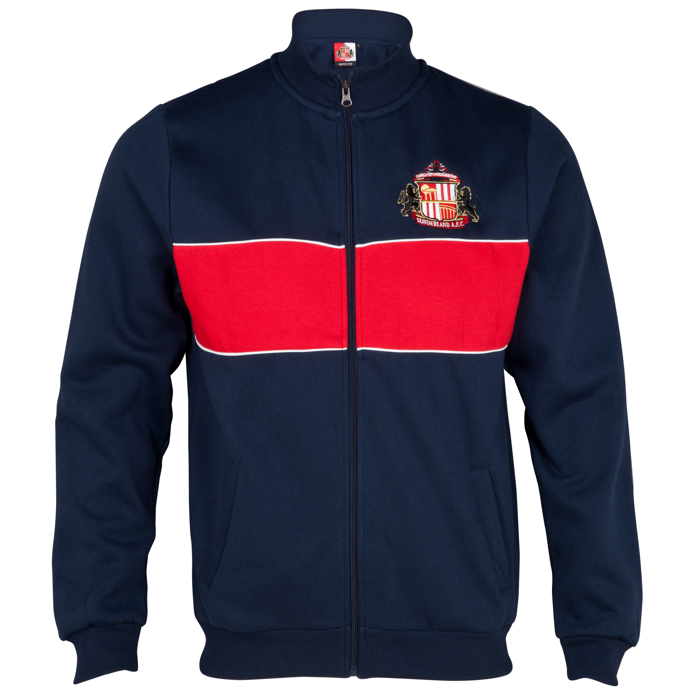 Sunderland Essential Game Track Top - Navy/Red - Older Boys