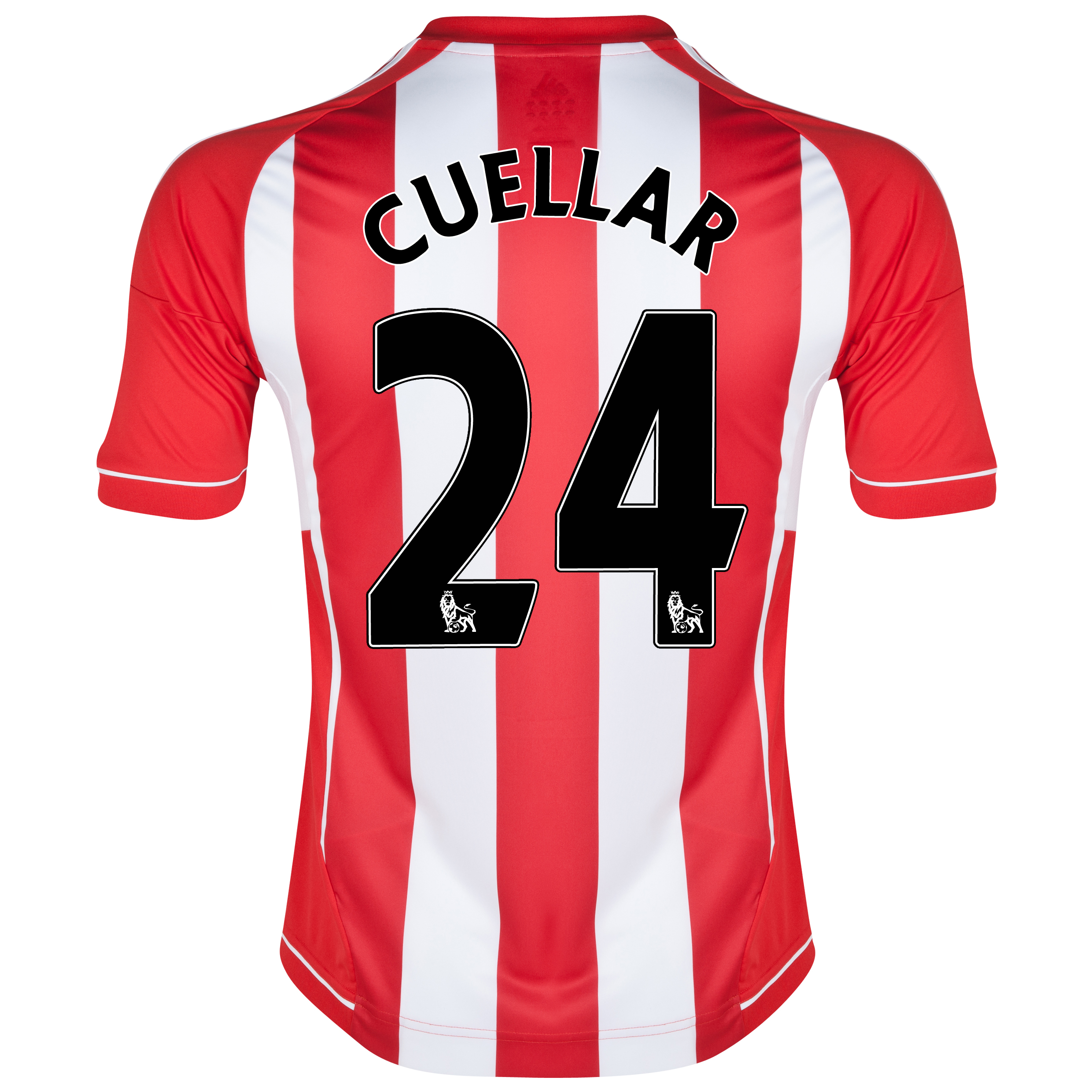 Sunderland Home Shirt 2012/13 with Cuellar 24 printing