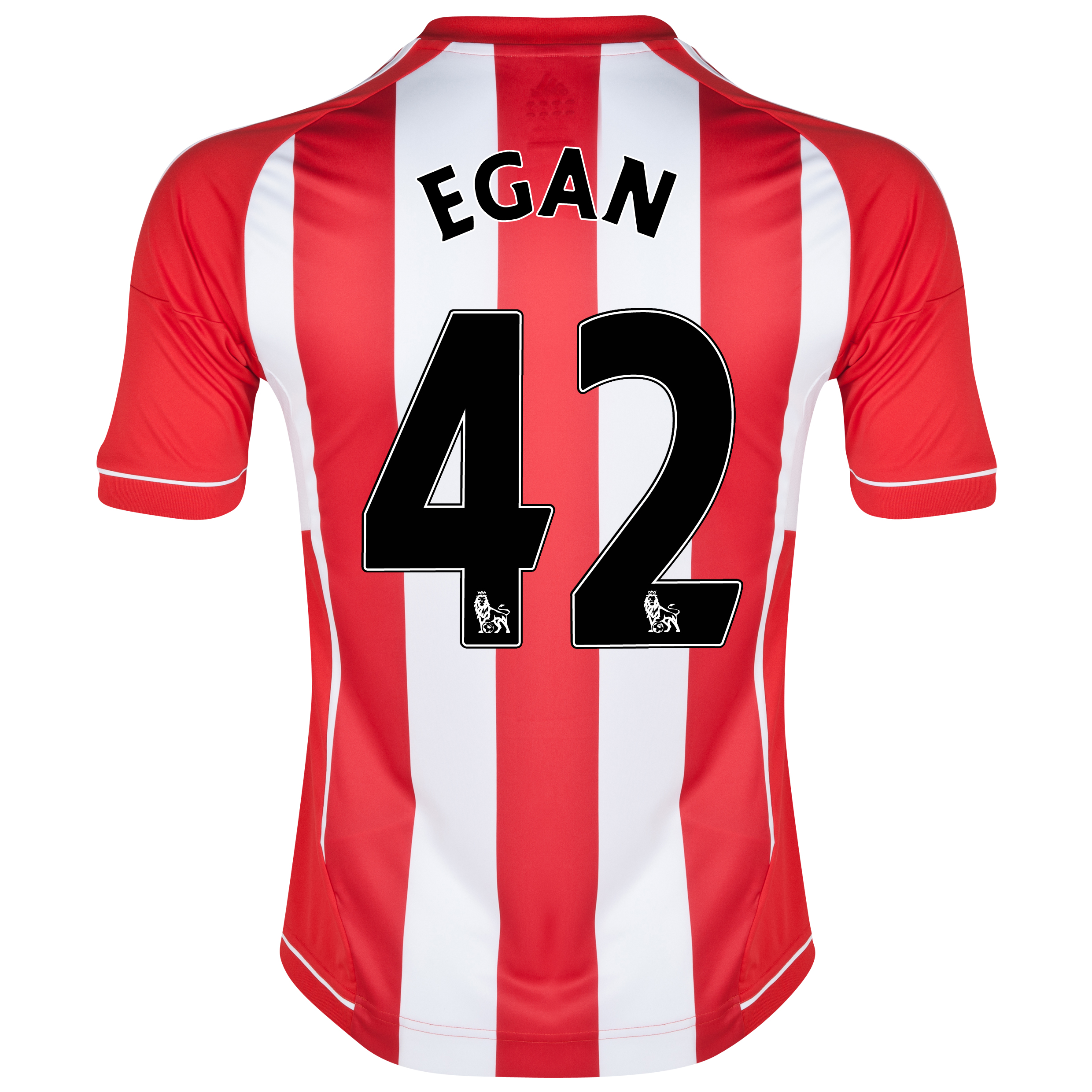 Sunderland Home Shirt 2012/13 - Junior with Egan 42 printing