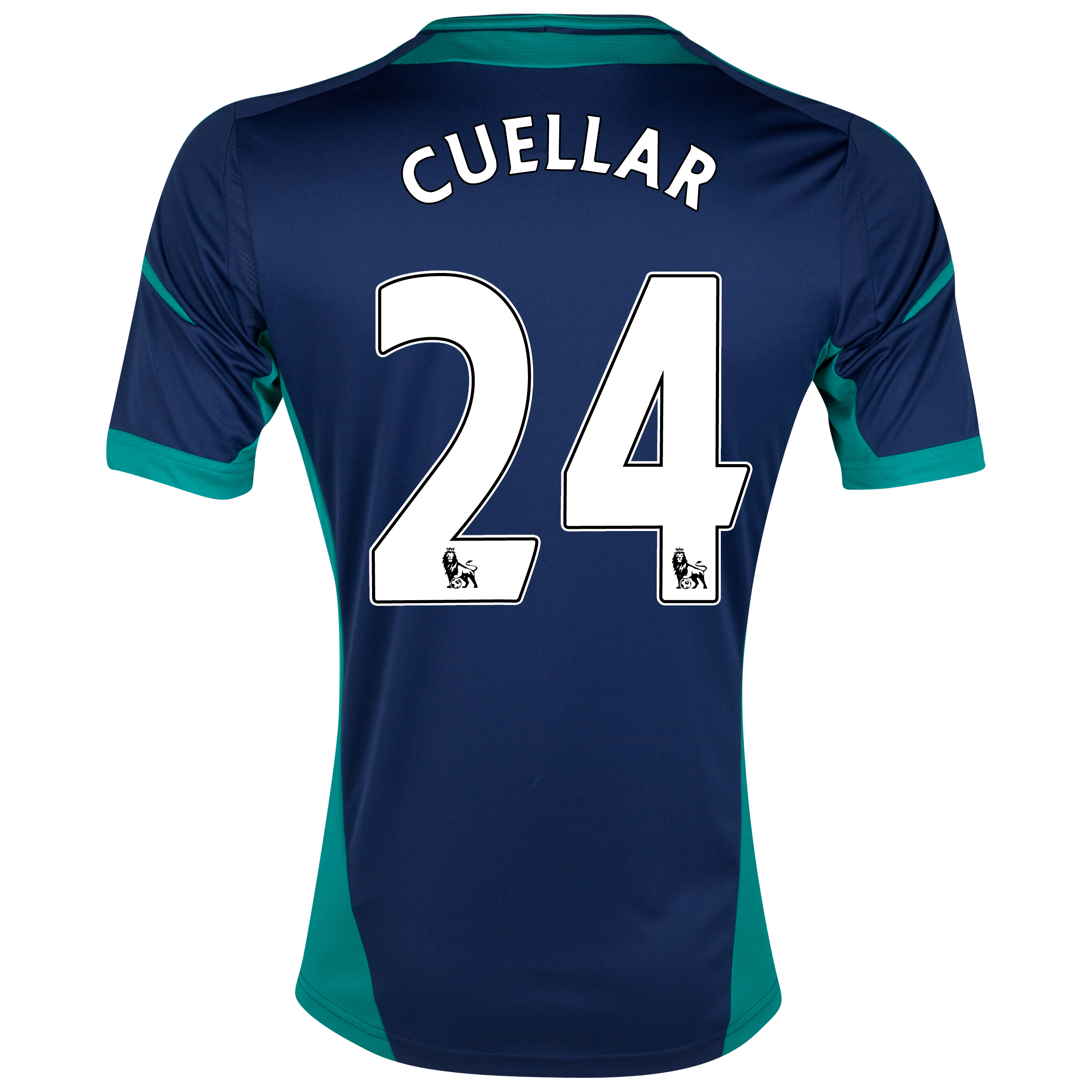 Sunderland Away Shirt 2012/13 with Cuellar 24 printing