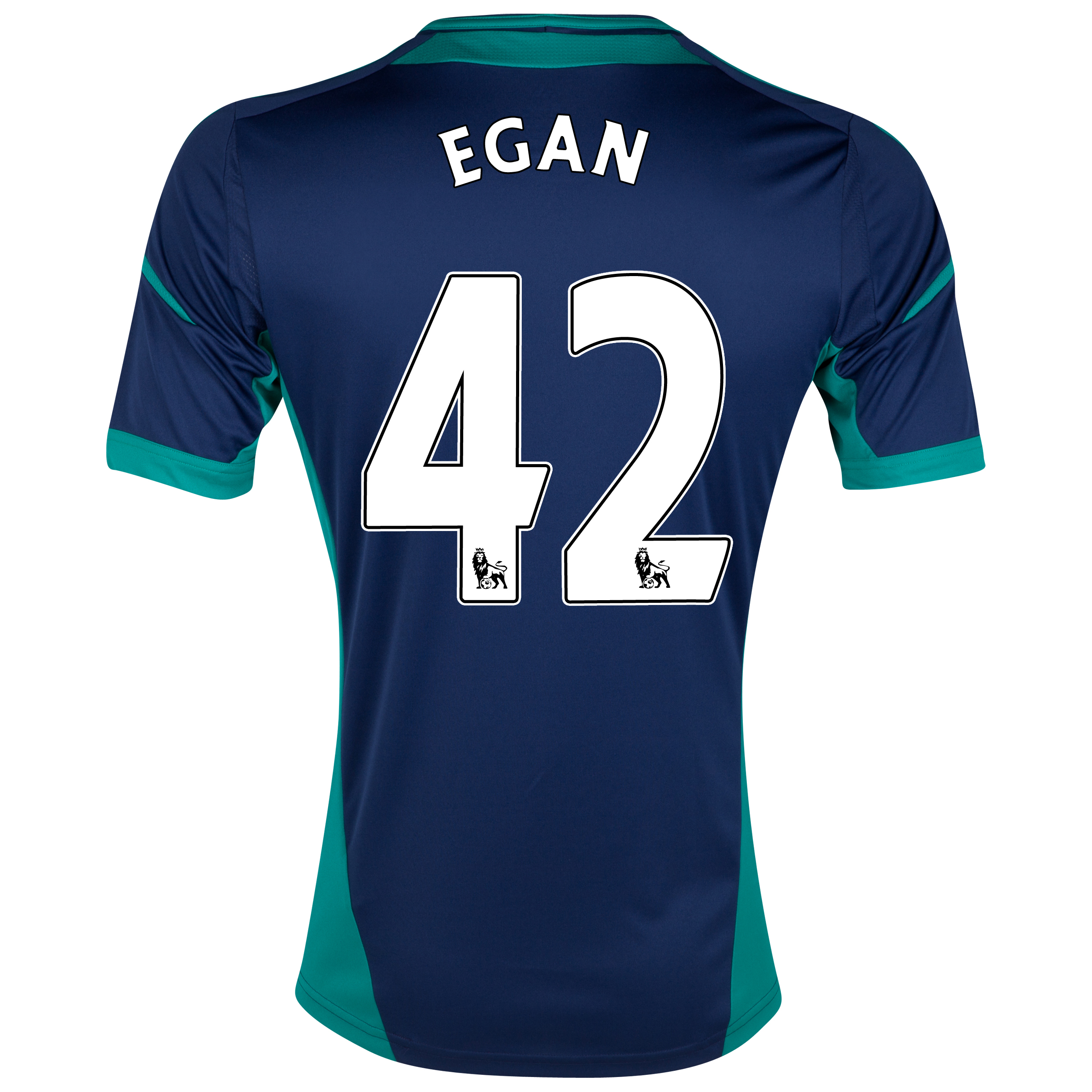 Sunderland Away Shirt 2012/13 with Egan 42 printing