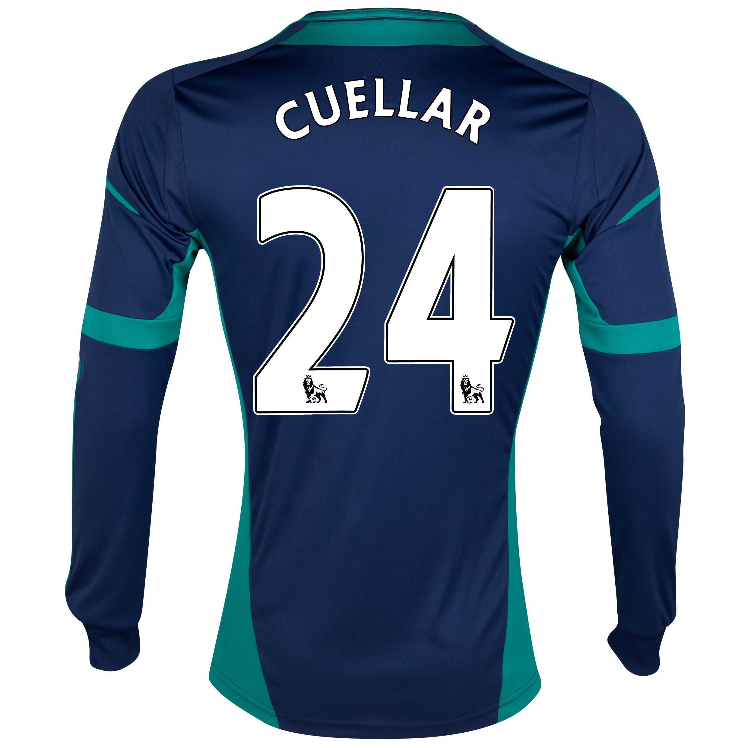 Sunderland Away Shirt 2012/13 - Long Sleeved with Cuellar 24 printing