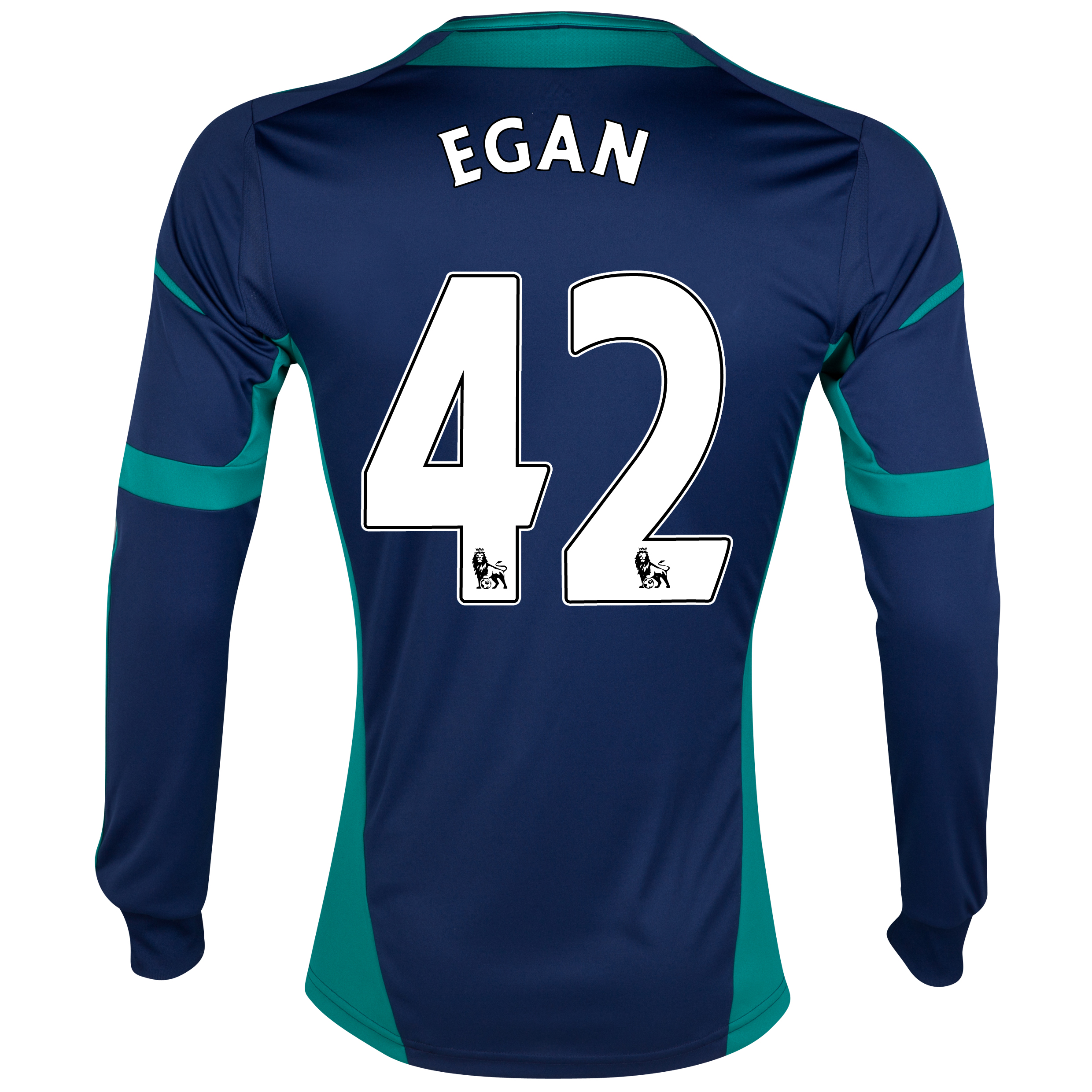 Sunderland Away Shirt 2012/13 - Long Sleeved with Egan 42 printing