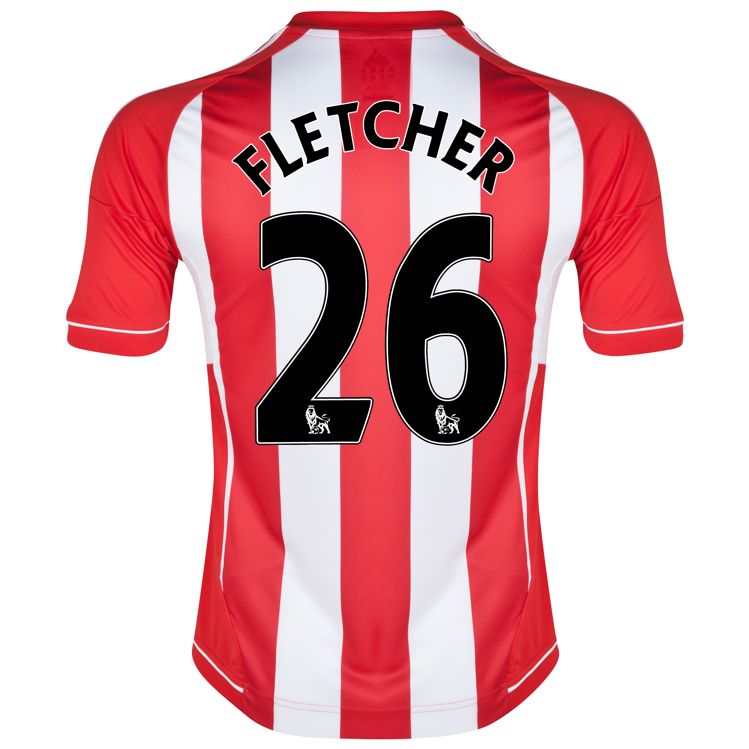 Sunderland Home Shirt 2012/13 - Junior with Fletcher 26 printing