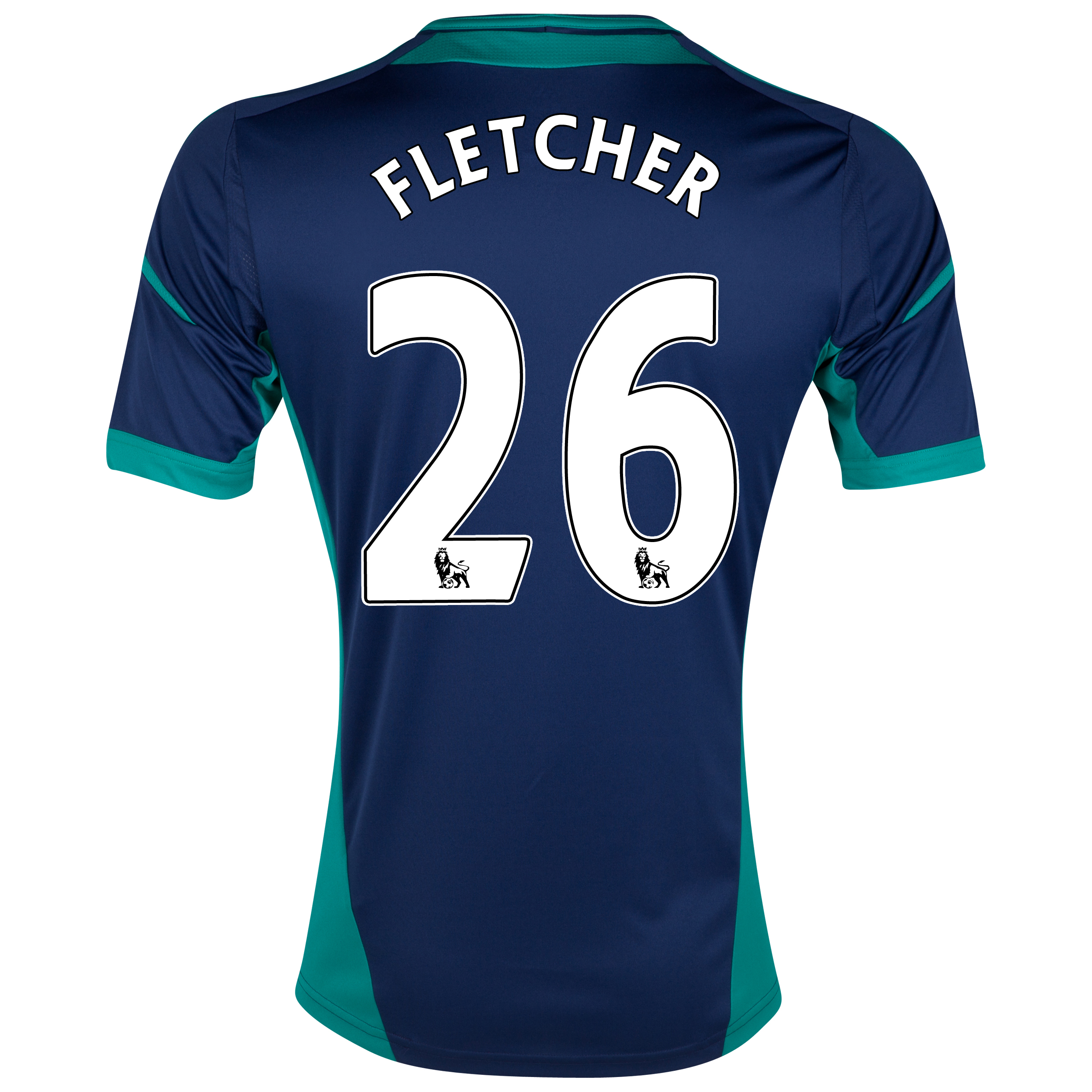 Sunderland Away Shirt 2012/13 with Fletcher 26 printing