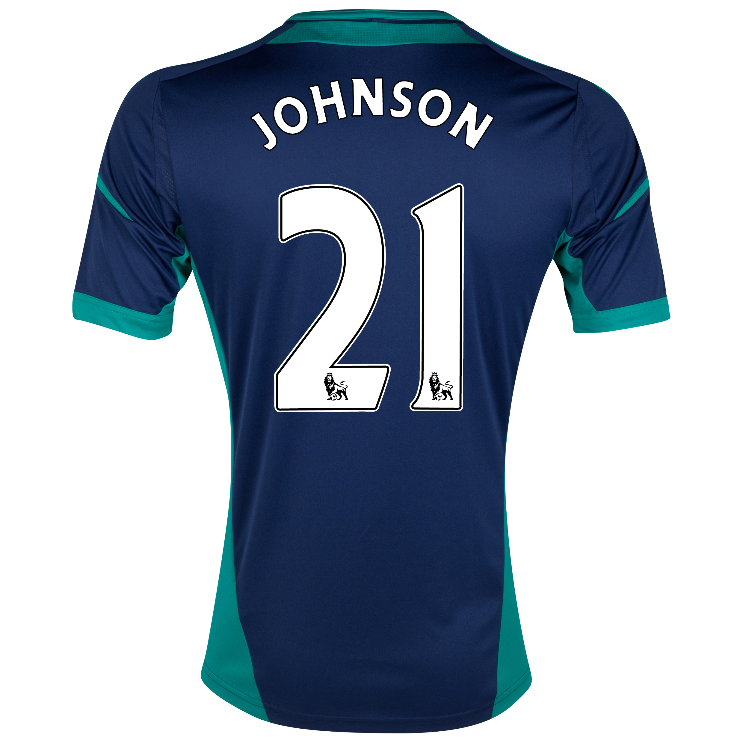 Sunderland Away Shirt 2012/13 with Johnson 21 printing