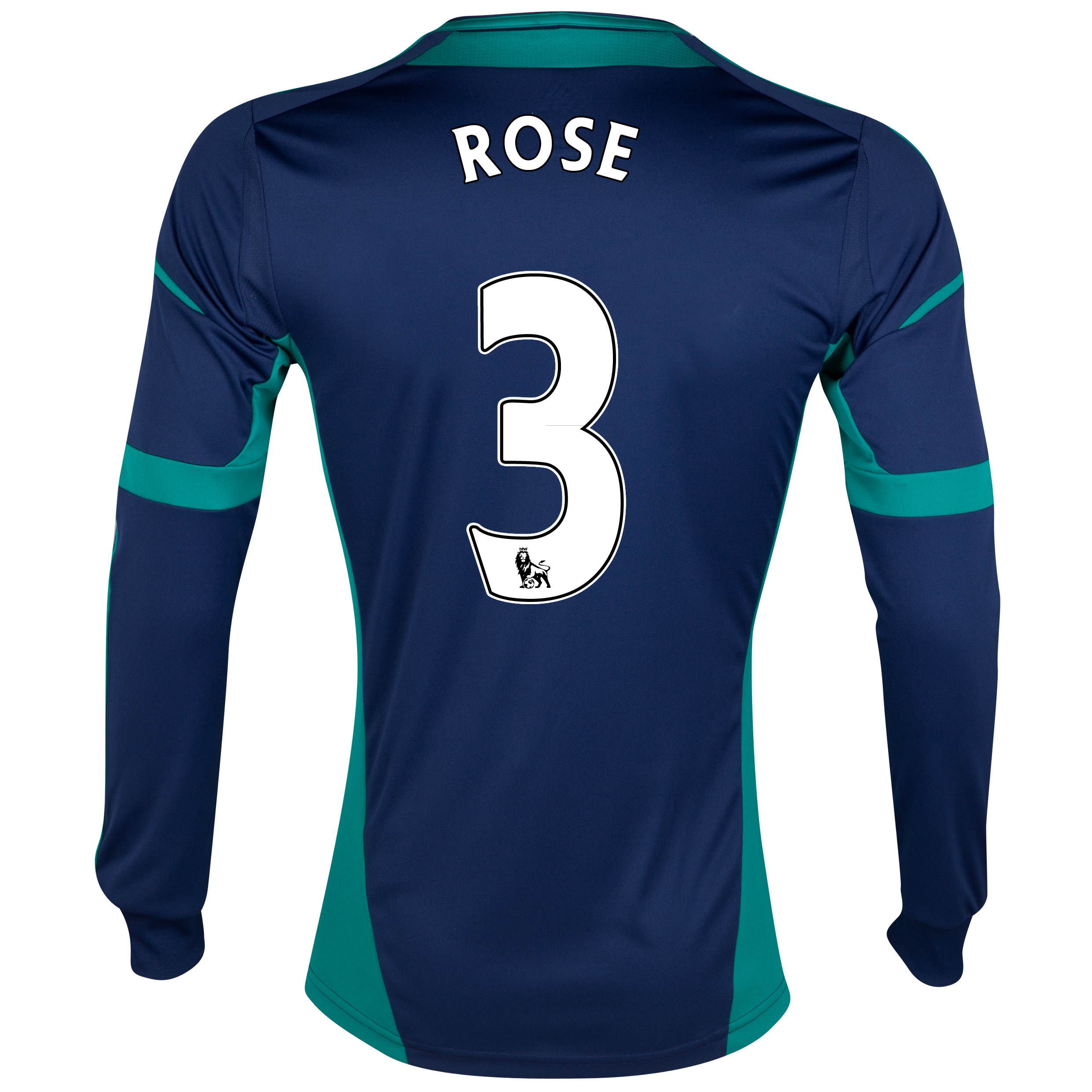 Sunderland Away Shirt 2012/13 - Long Sleeved with Rose 3 printing