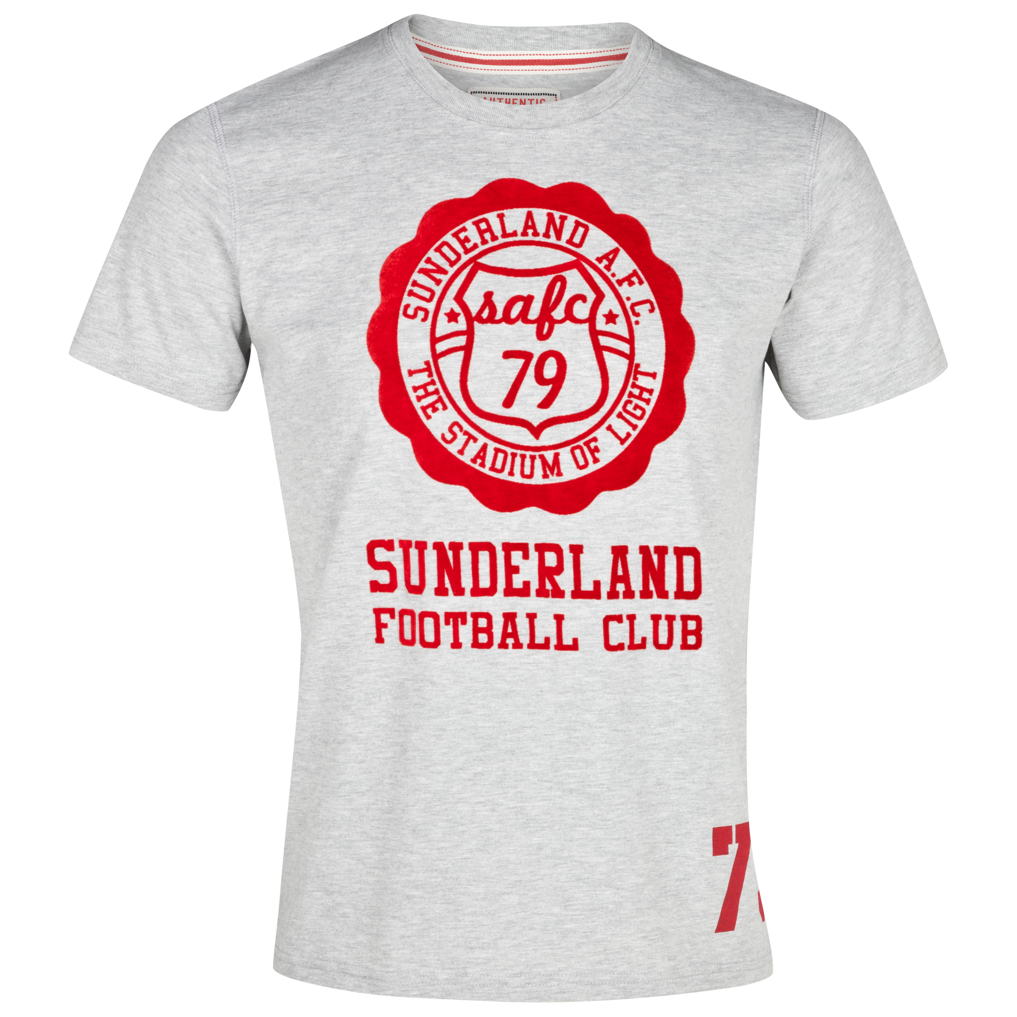 Sunderland Halo T-Shirt - Grey