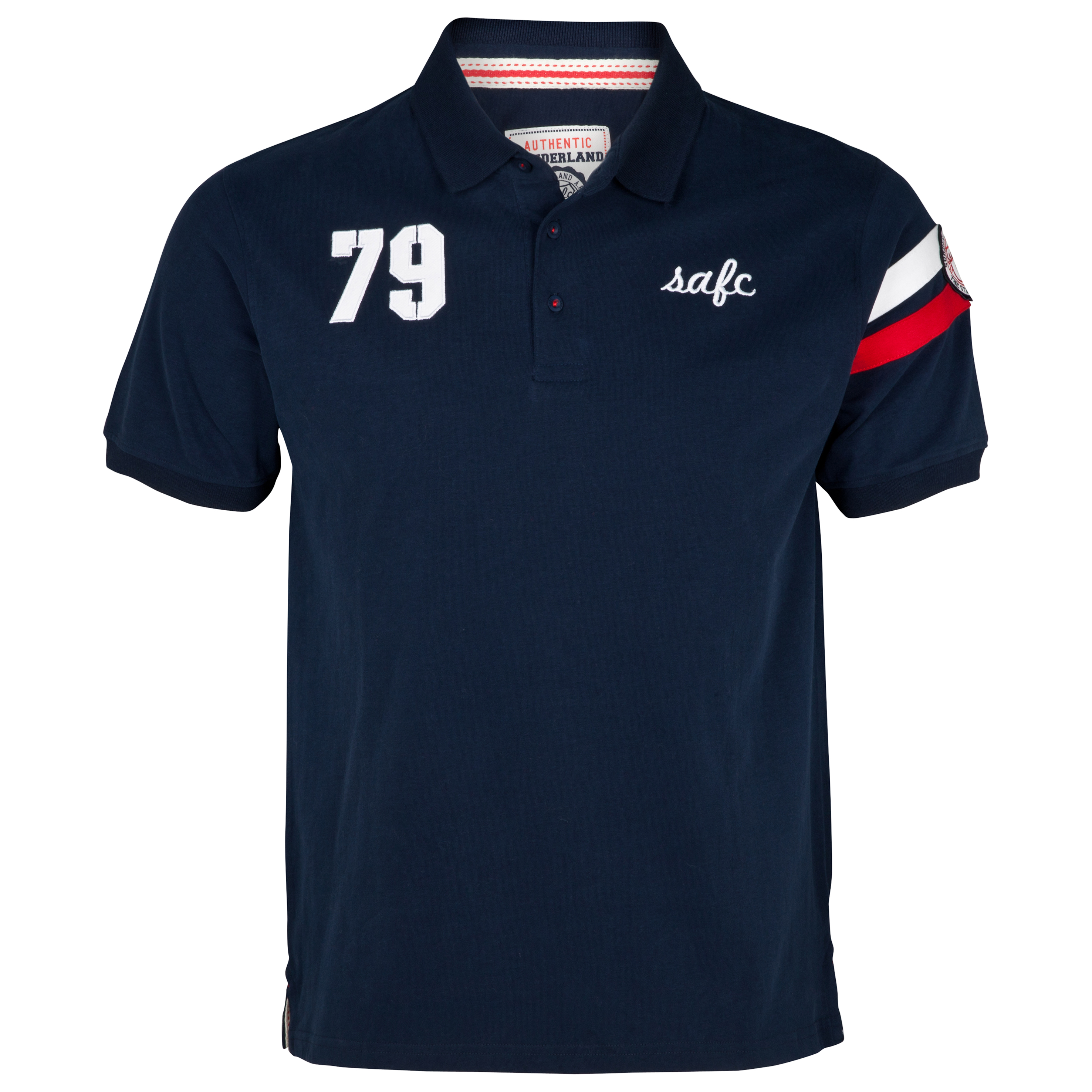 Sunderland Arms Polo Top- Navy