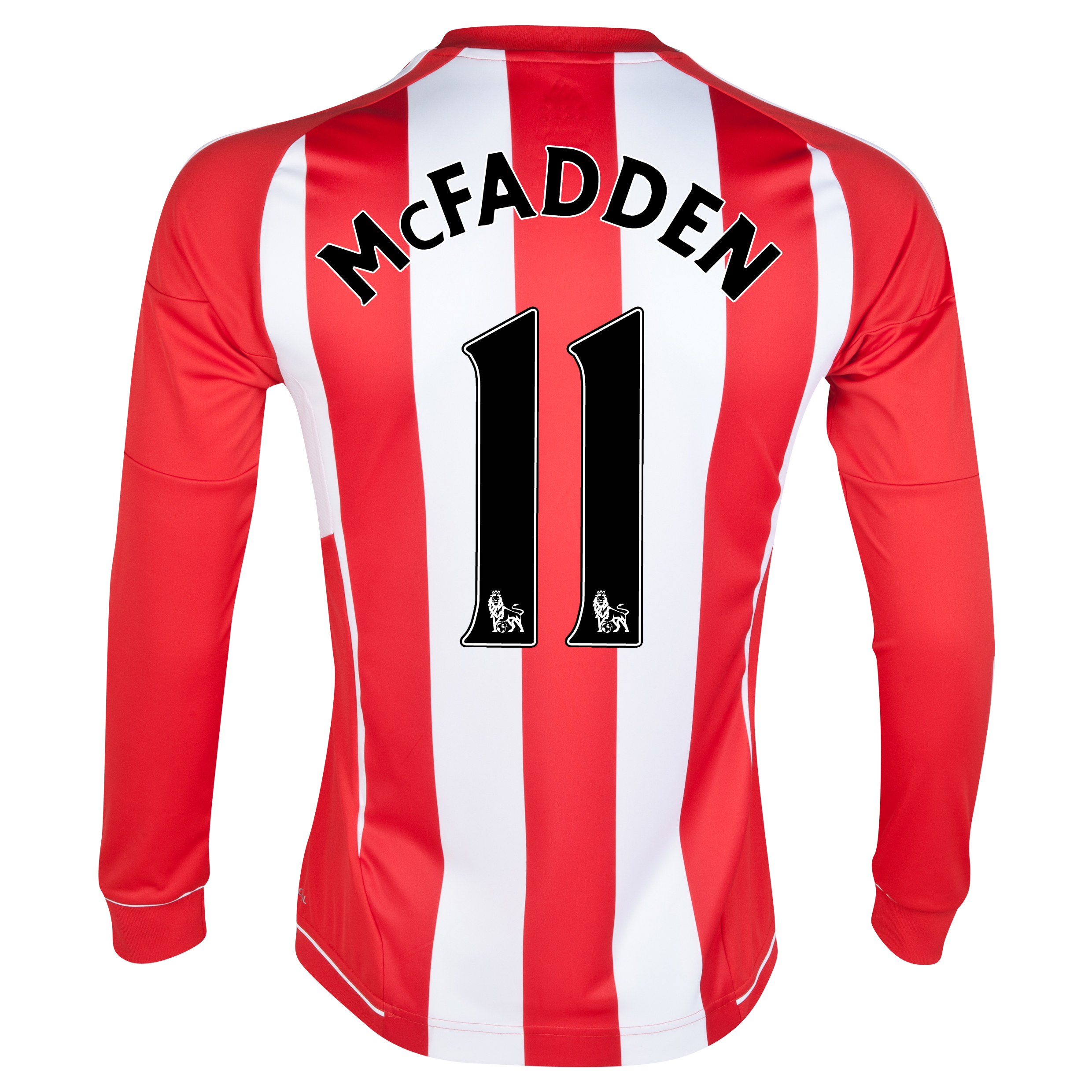 Sunderland Home Shirt 2012/13 - Long Sleeved with McFadden 11 printing