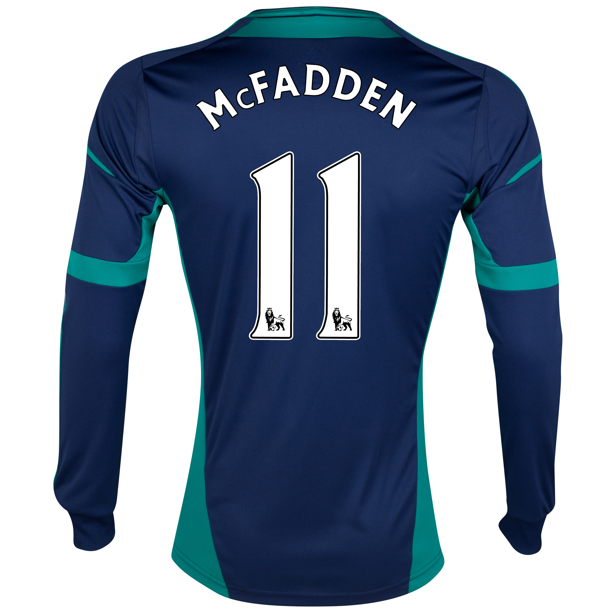 Sunderland Away Shirt 2012/13 - Long Sleeved with McFadden 11 printing