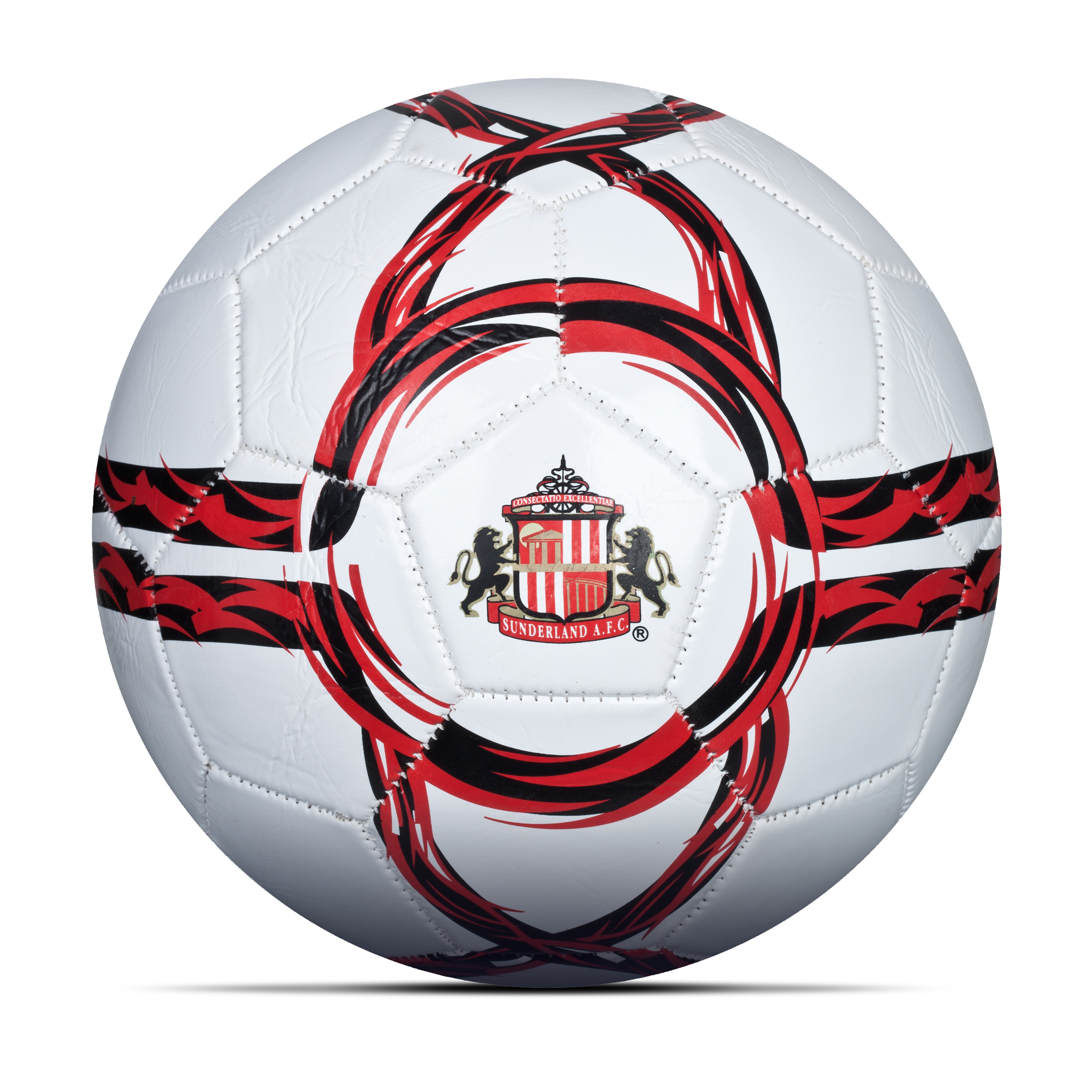 Sunderland Core Football - Size 5 - White/Red