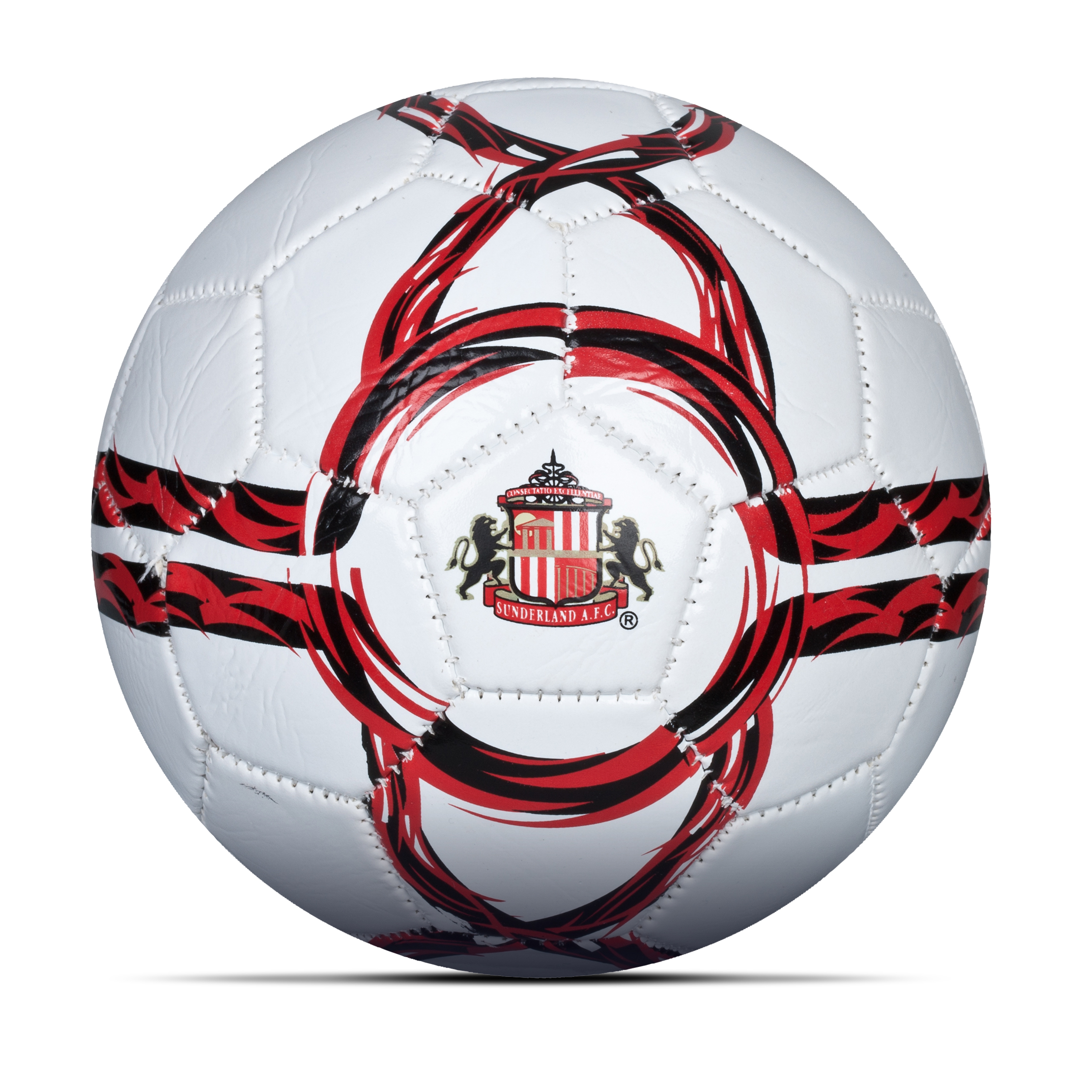 Sunderland Core Football - Size 2 - White/Red