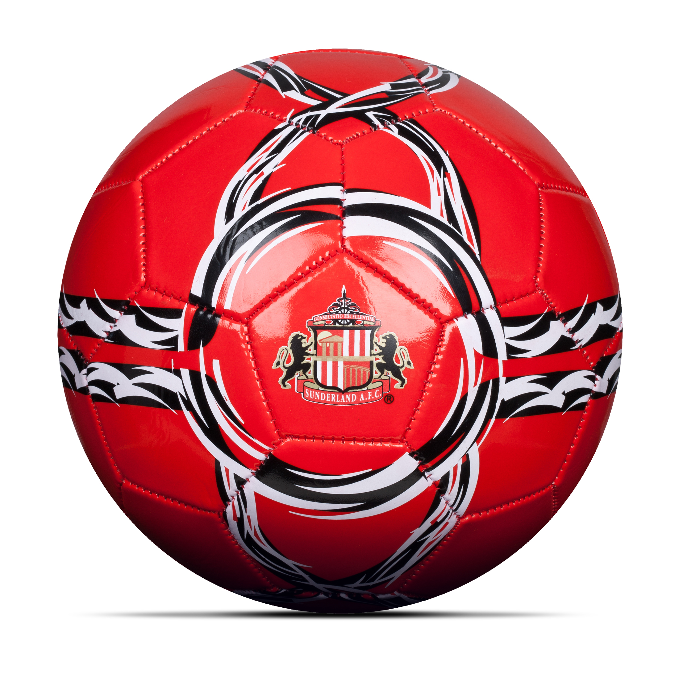 Sunderland Core Football - Size 5 - Red/White