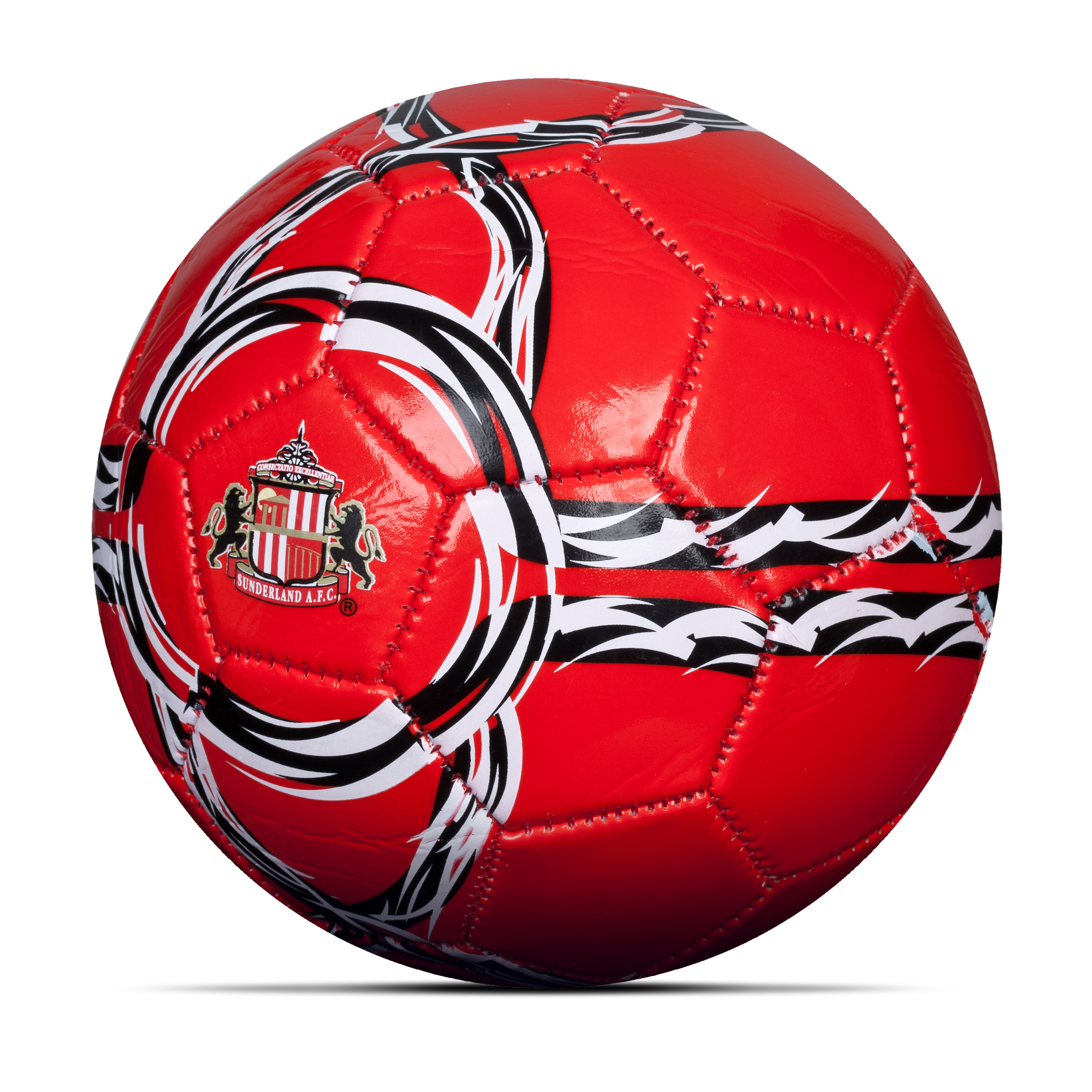 Sunderland Core Football - Size 2 - Red/White