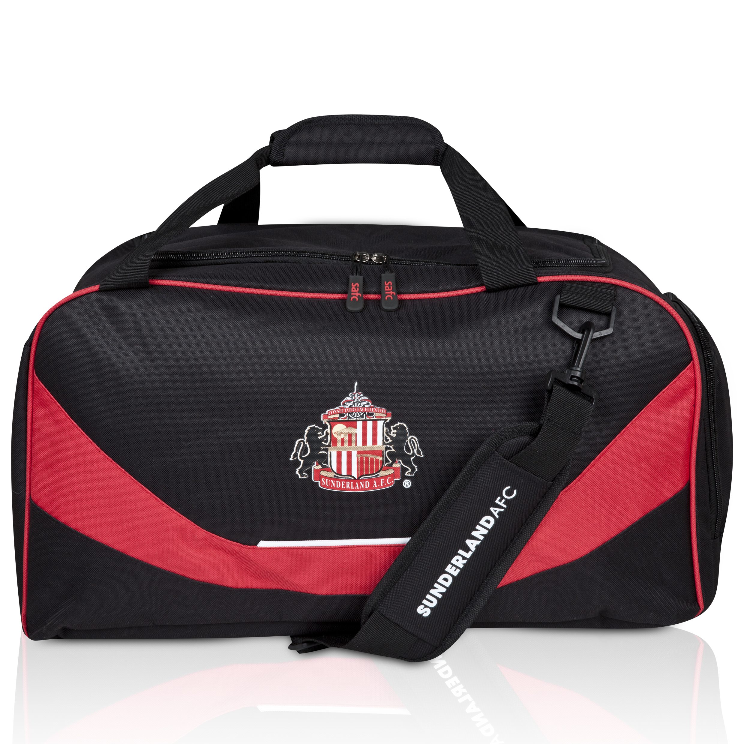 Sunderland Core Holdall - Black/Red