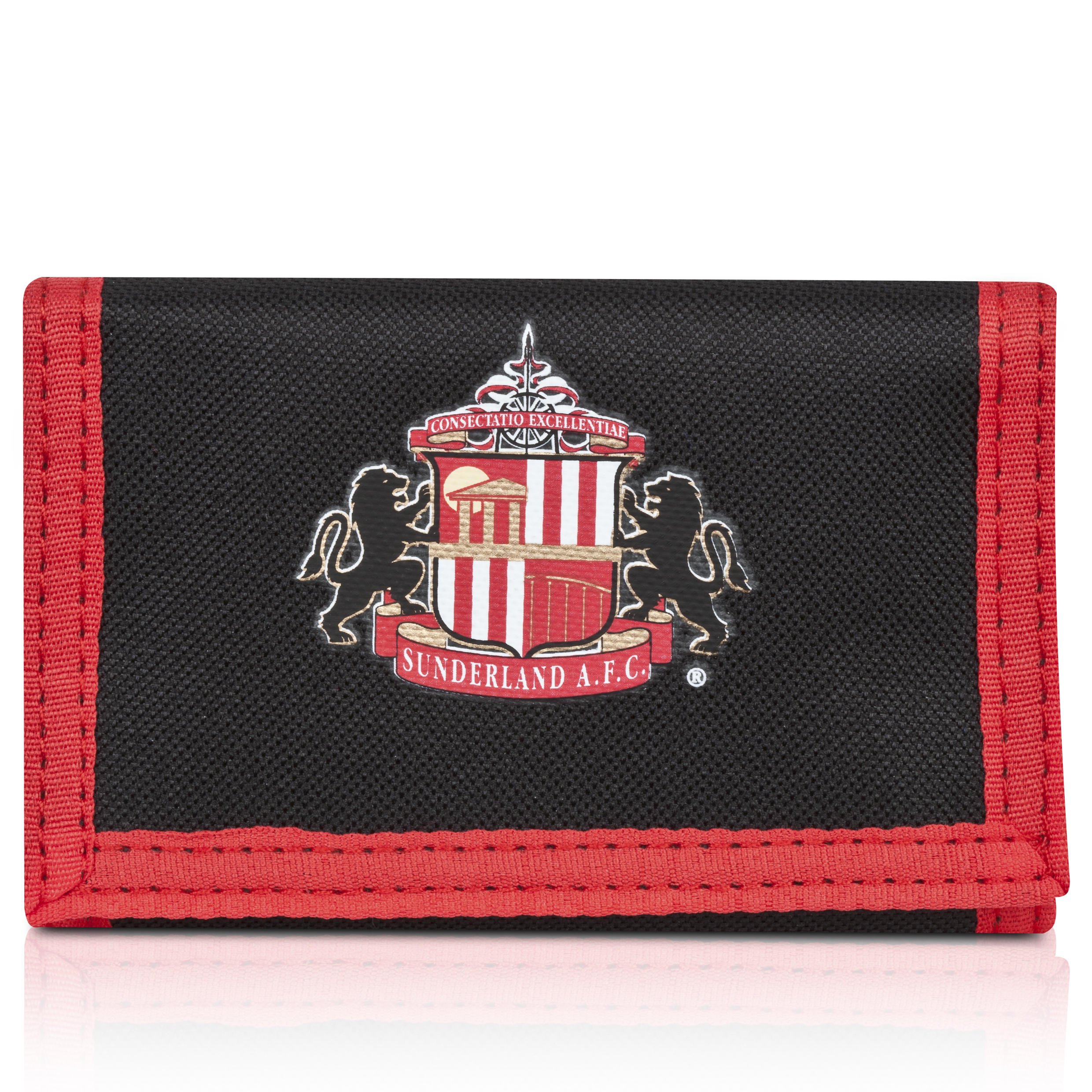 Sunderland Core Wallet - Black/Red