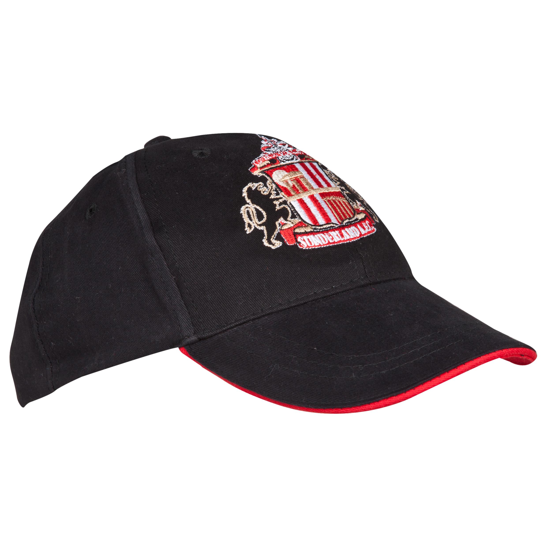 Sunderland Core Cap - Black