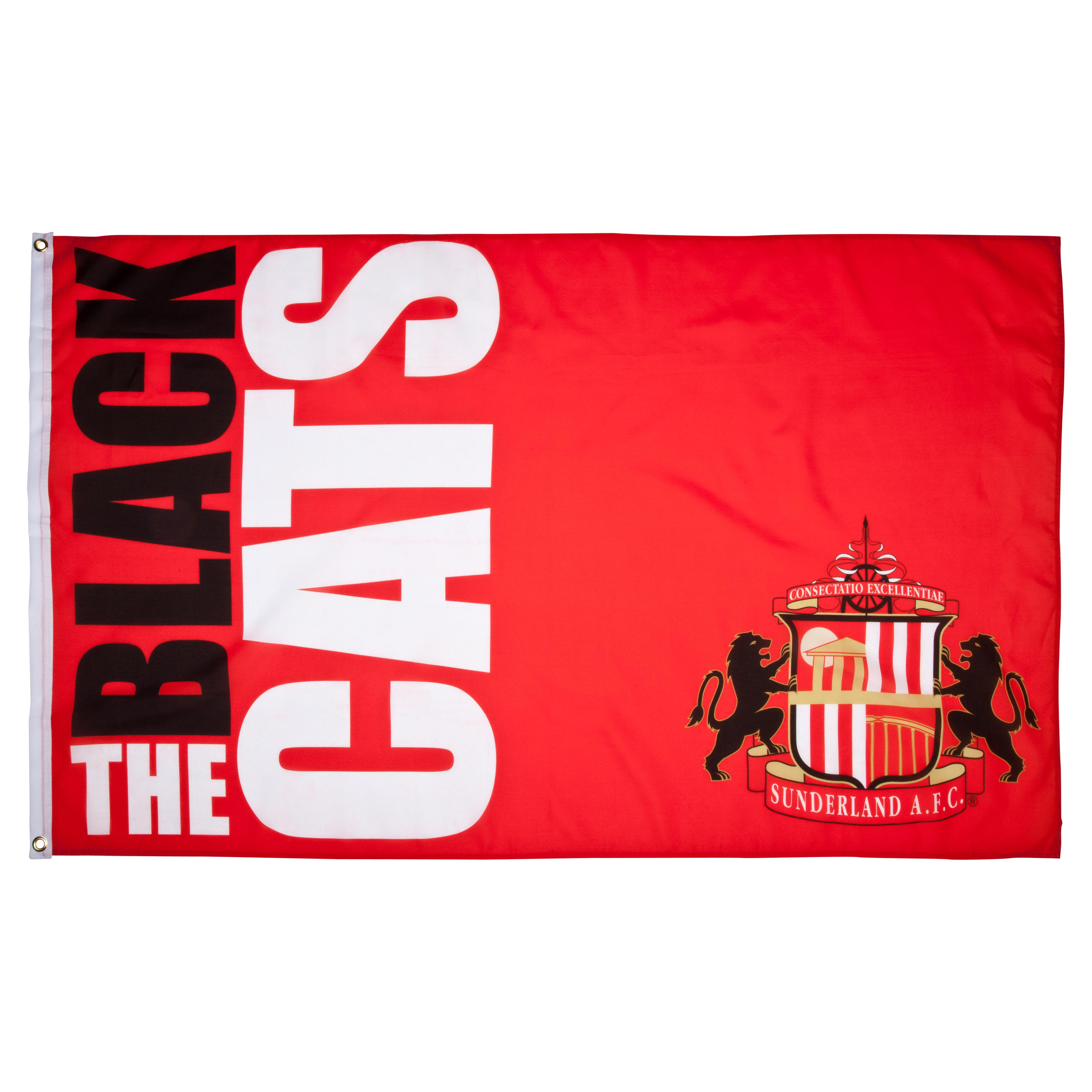 Sunderland Slogan 5x3 Flag