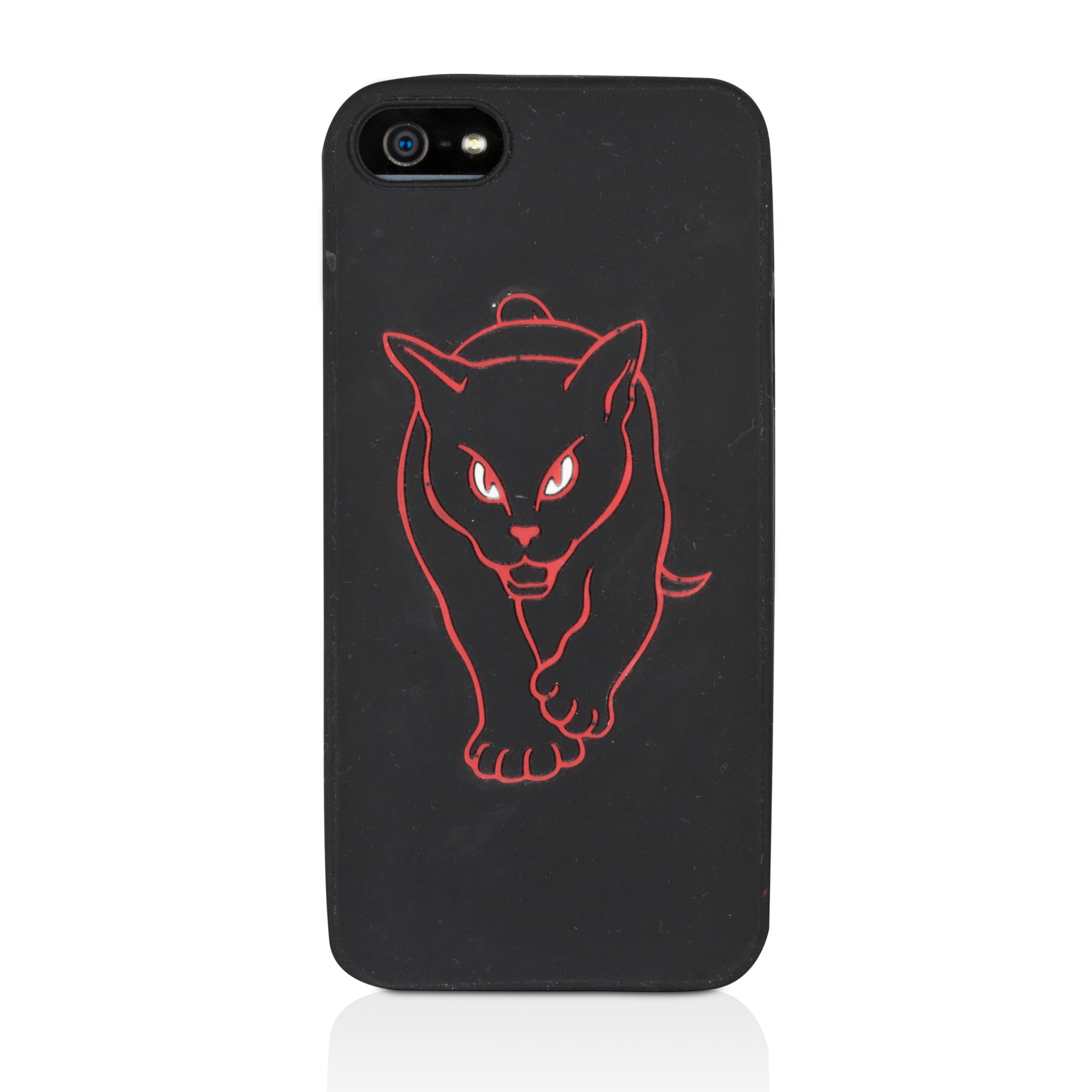 Sunderland Black Cat iphone 5th Generation Silicon Skin