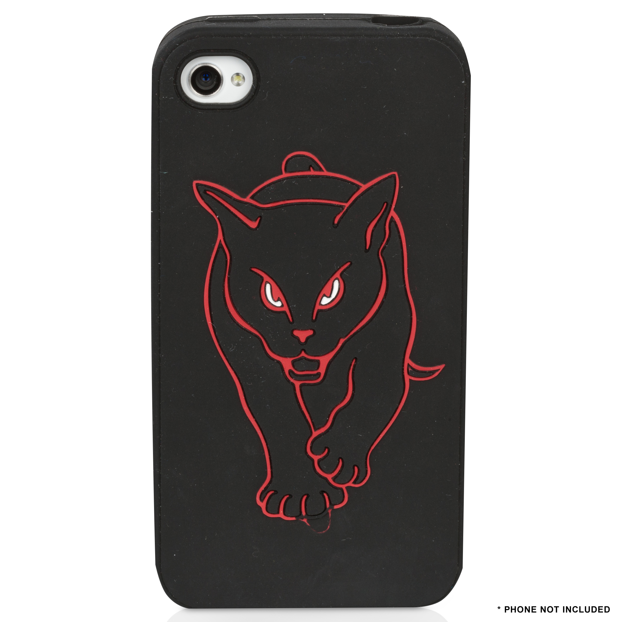 Sunderland Black Cat iphone 4th Generation Silicon Skin