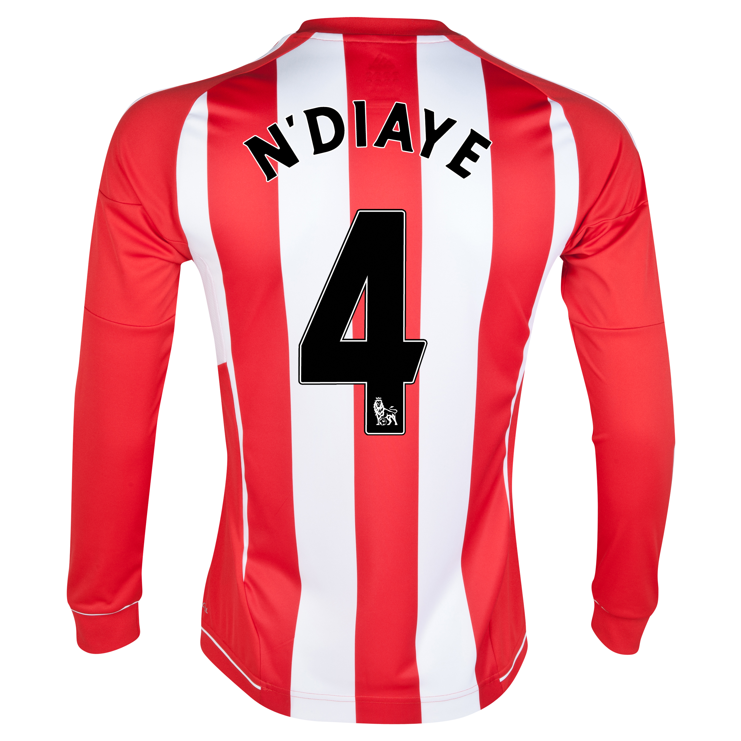 Sunderland Home Shirt 2012/13 - Long Sleeved - Junior with N'Diaye 4 printing