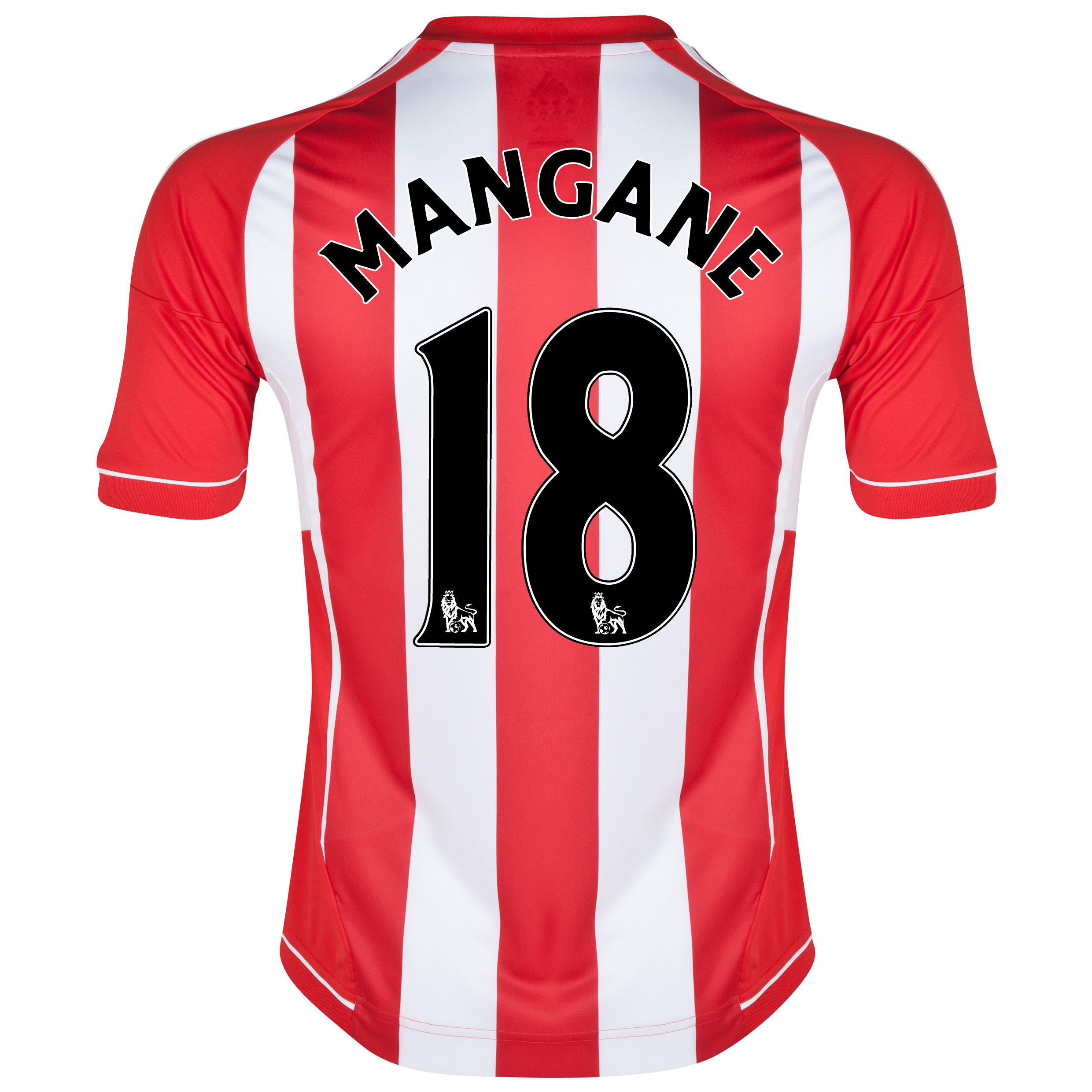 Sunderland Home Shirt 2012/13 with Mangane 18 printing