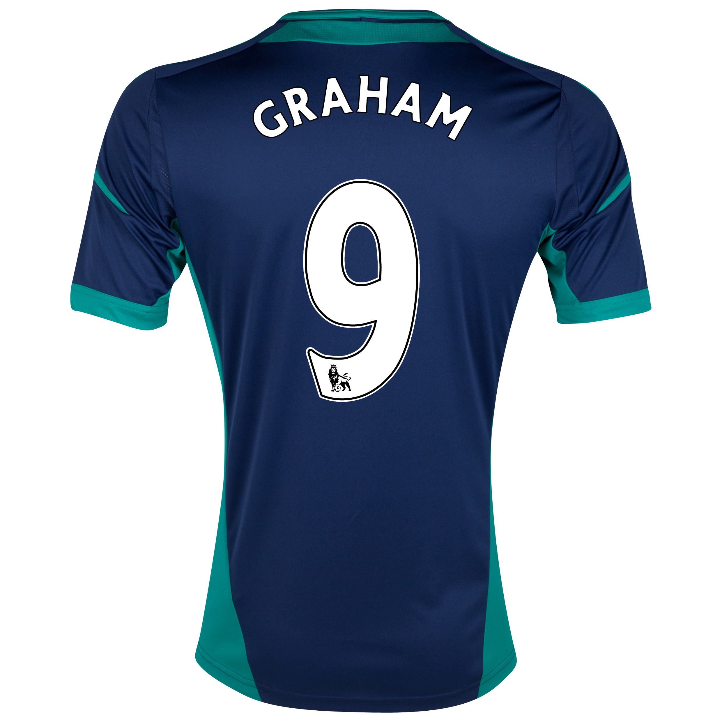 Sunderland Away Shirt 2012/13 with Graham 9 printing