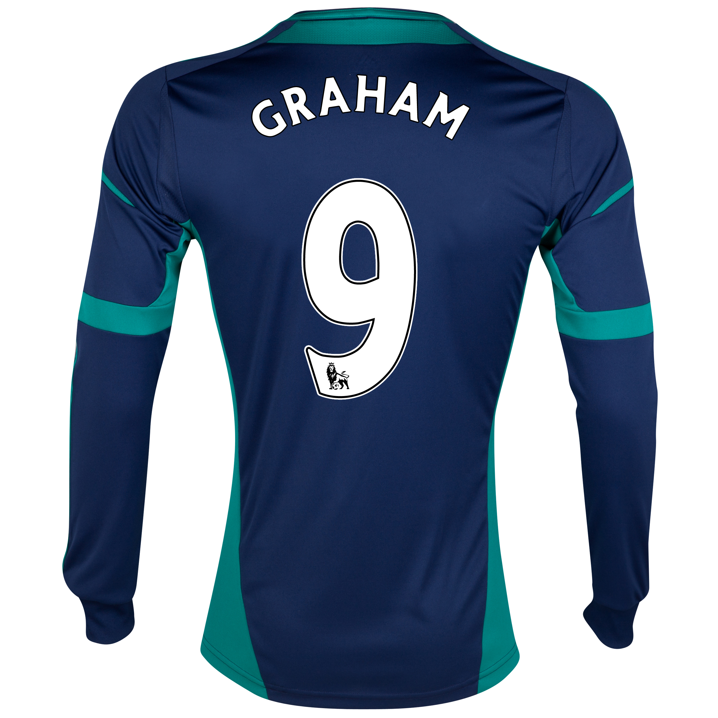 Sunderland Away Shirt 2012/13 - Long Sleeved with Graham 9 printing
