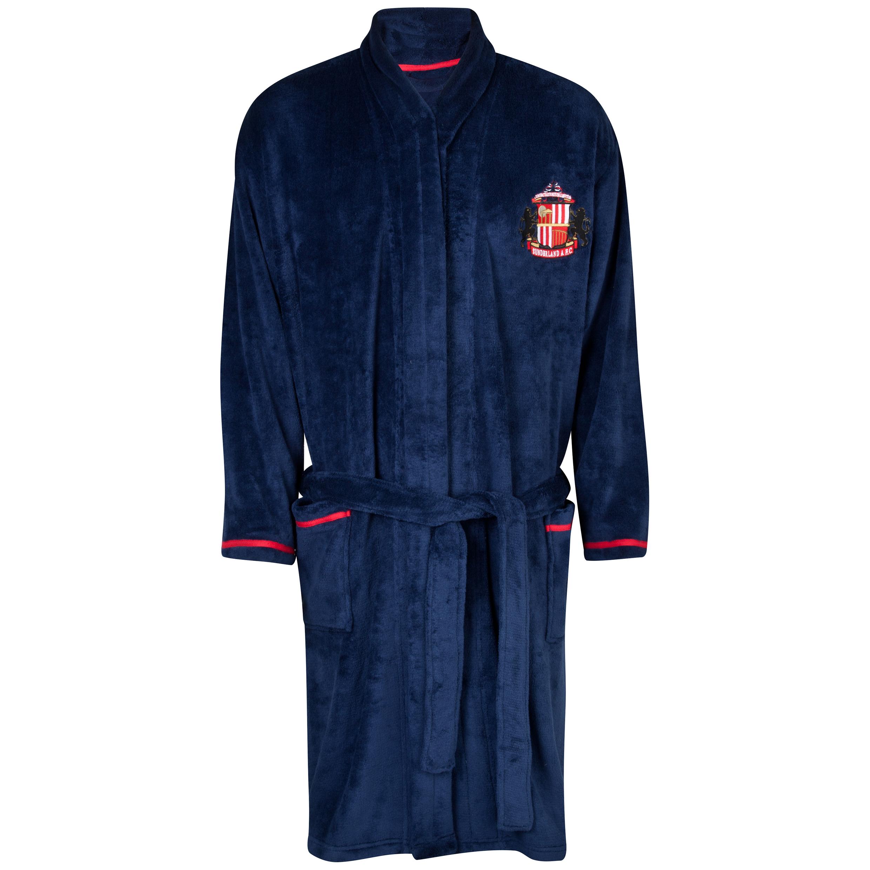 Sunderland Robe Mens Navy