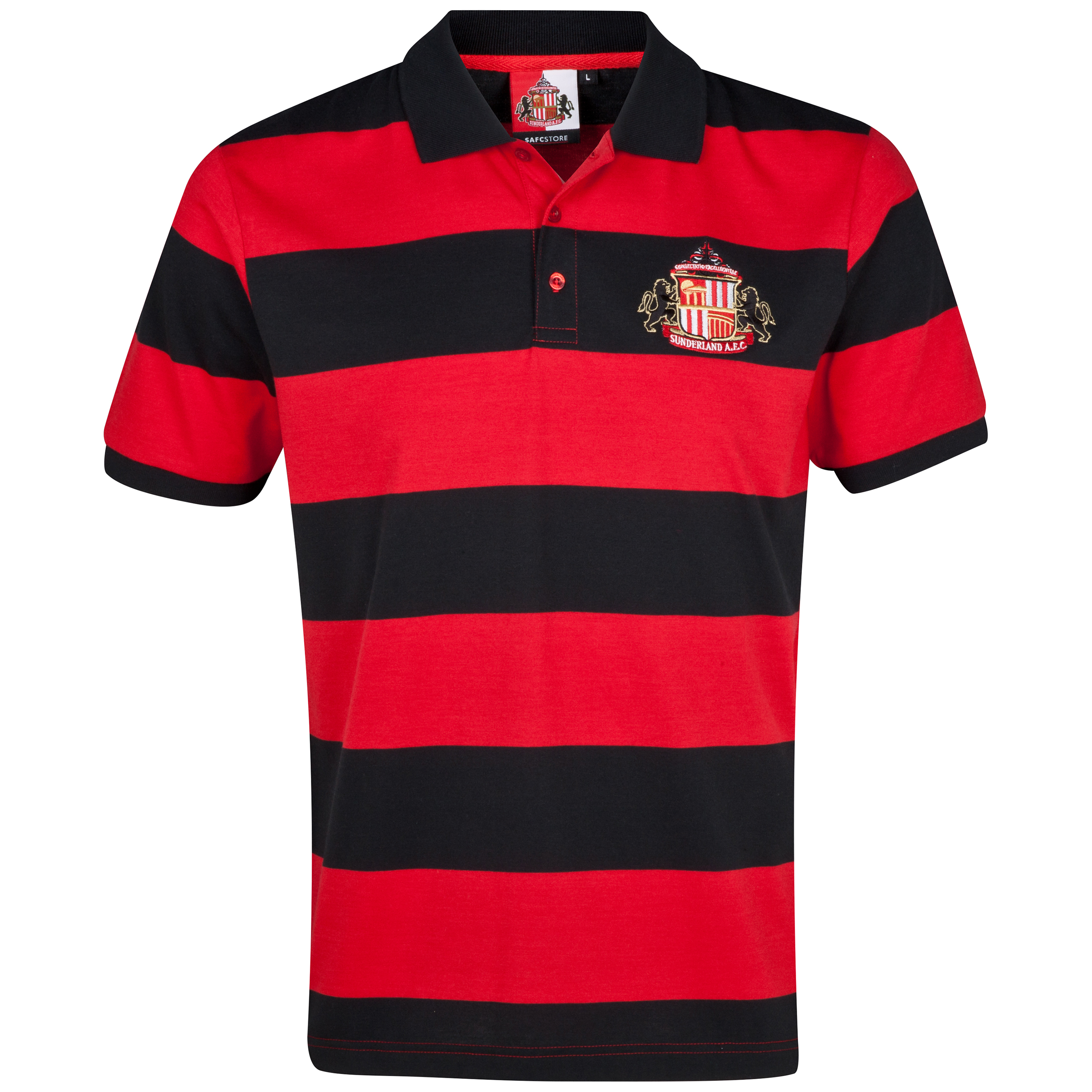 Sunderland Essentials Contour Polo Shirt - Mens Red