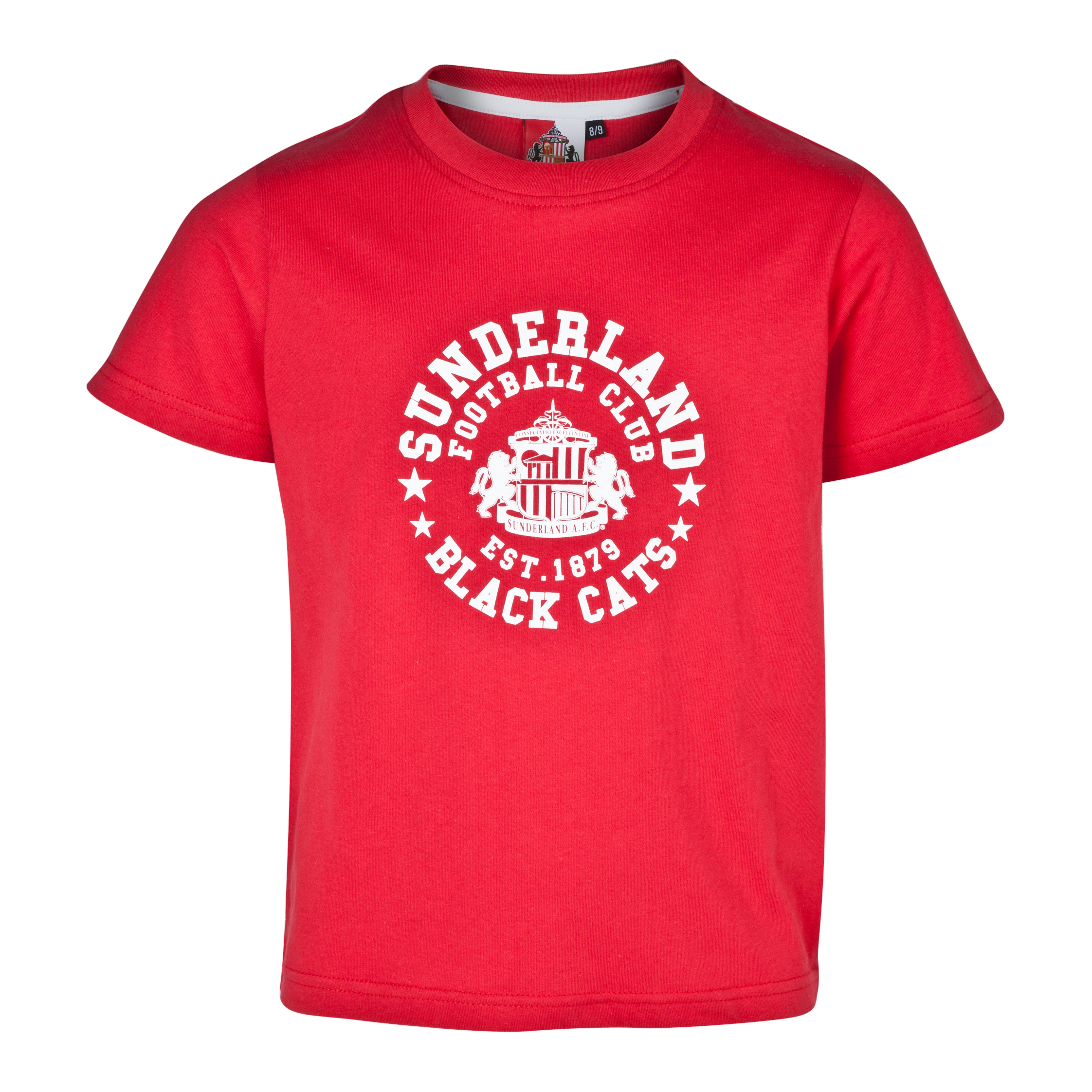 Sunderland Essentials RadiusT-Shirt - Older Boys Red