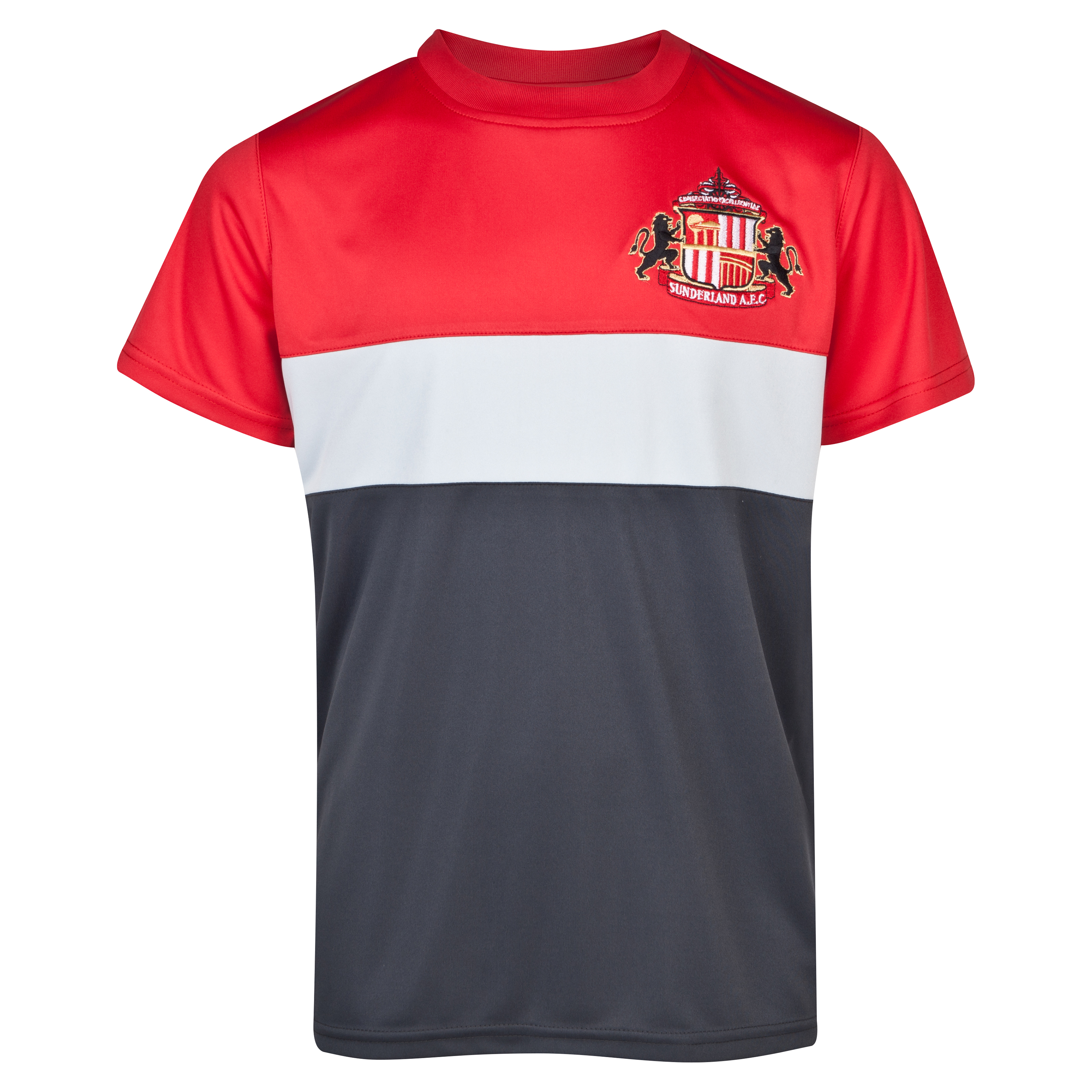 Sunderland Essentials Tiers T-Shirt - Older Boys Red