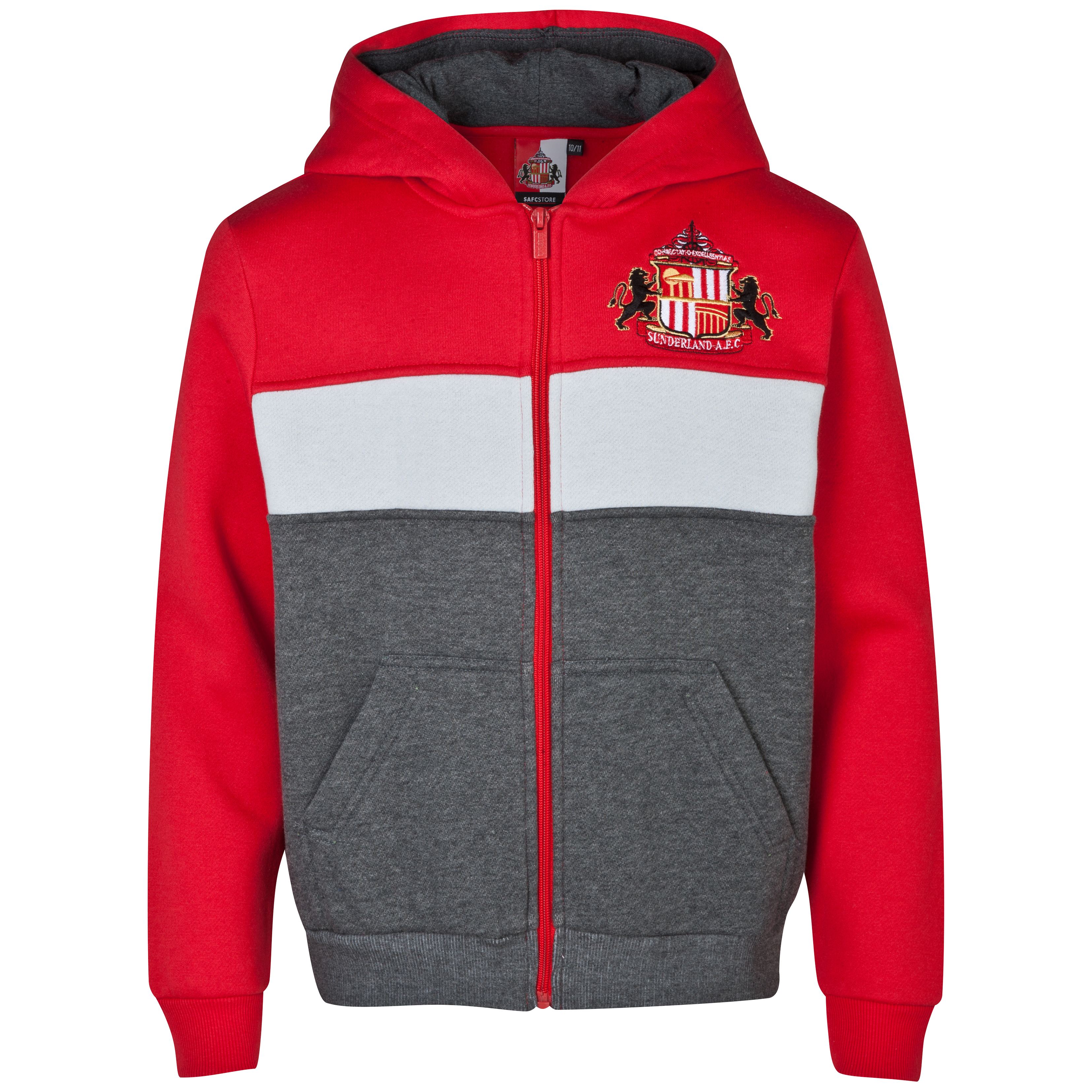 Sunderland Essentials Level Hoody - Older Boys Red