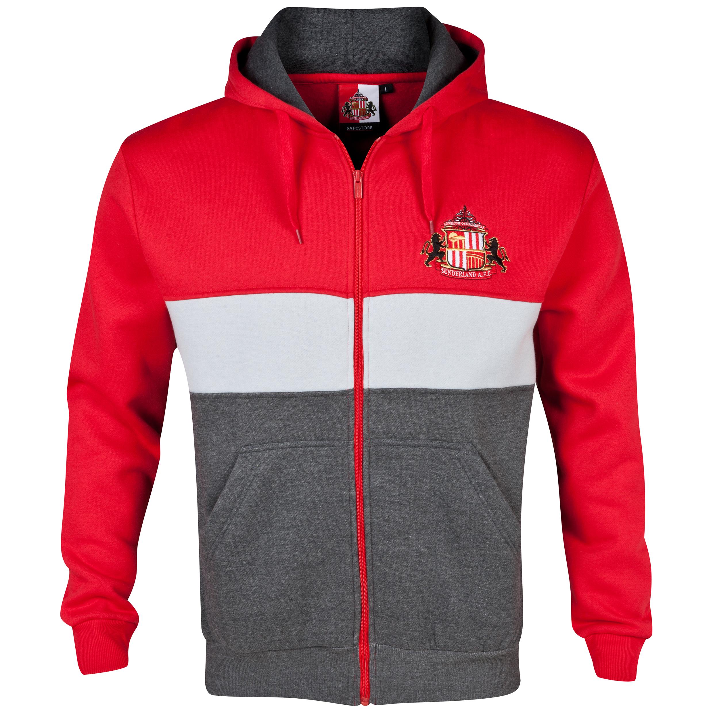 Sunderland Essentials Level Hoody - Mens Red