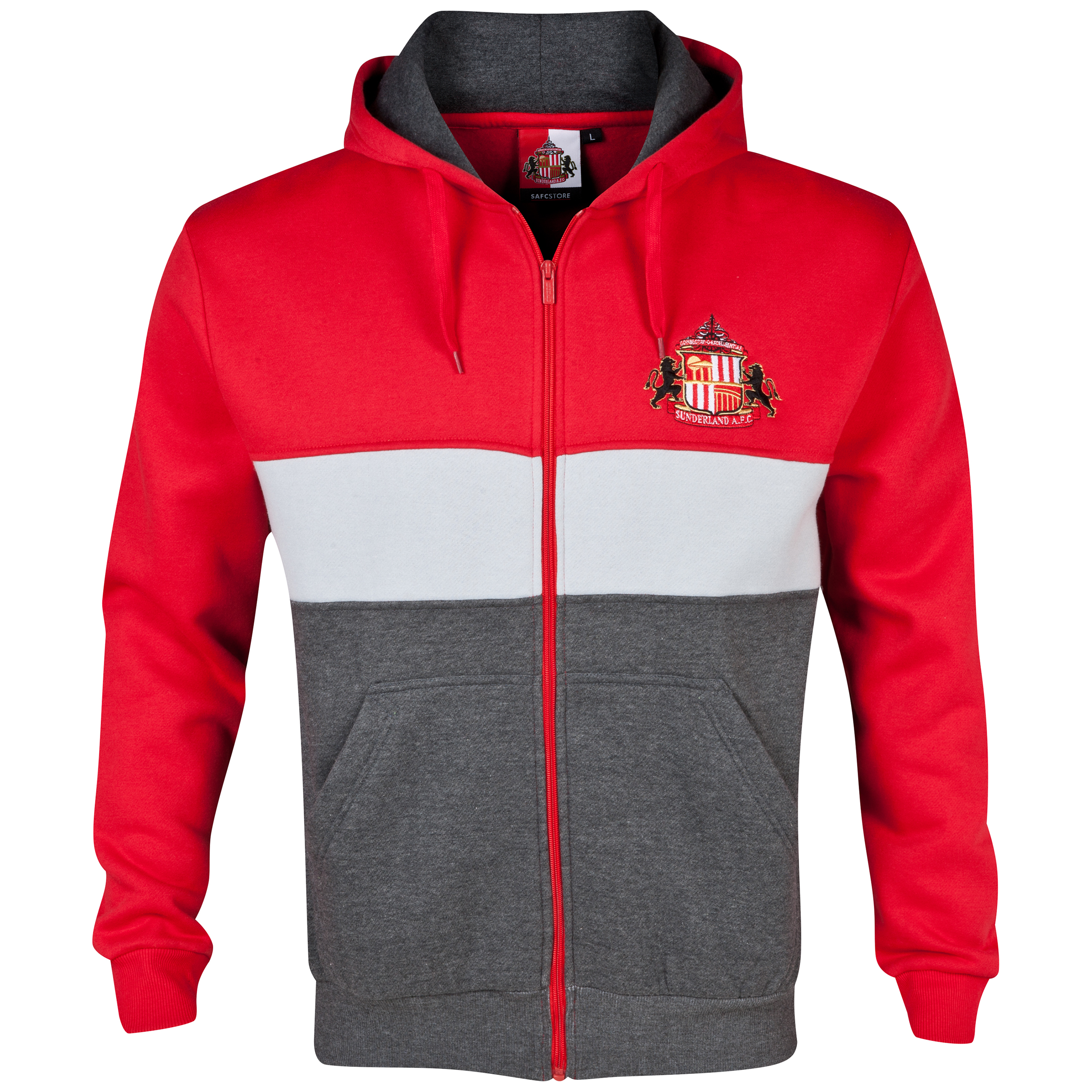 Sunderland Essentials Level Hoody - Mens Red
