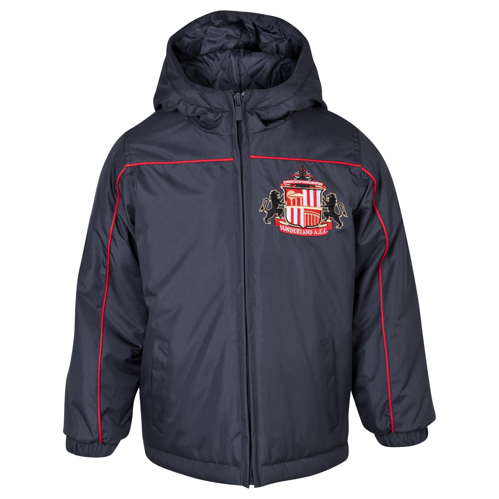 Sunderland Essentials Match Coat - Infant Boys Dk Grey