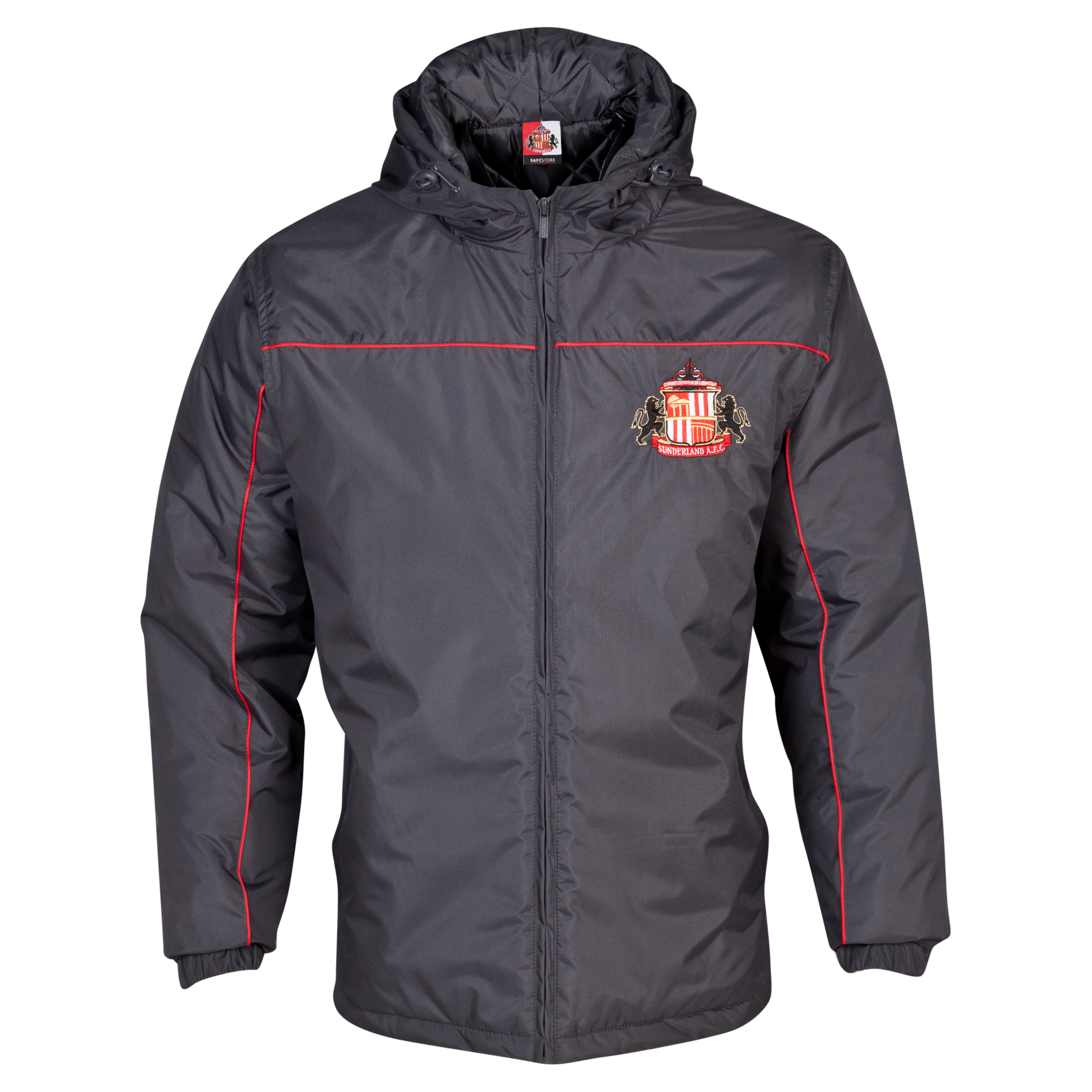 Sunderland Essentials Match Coat - Mens Dk Grey