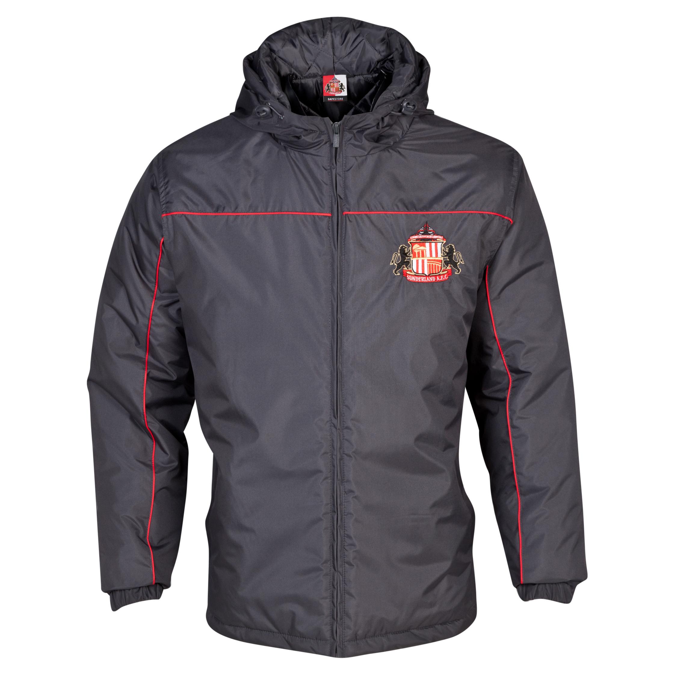 Sunderland Essentials Match Coat - Mens Dk Grey