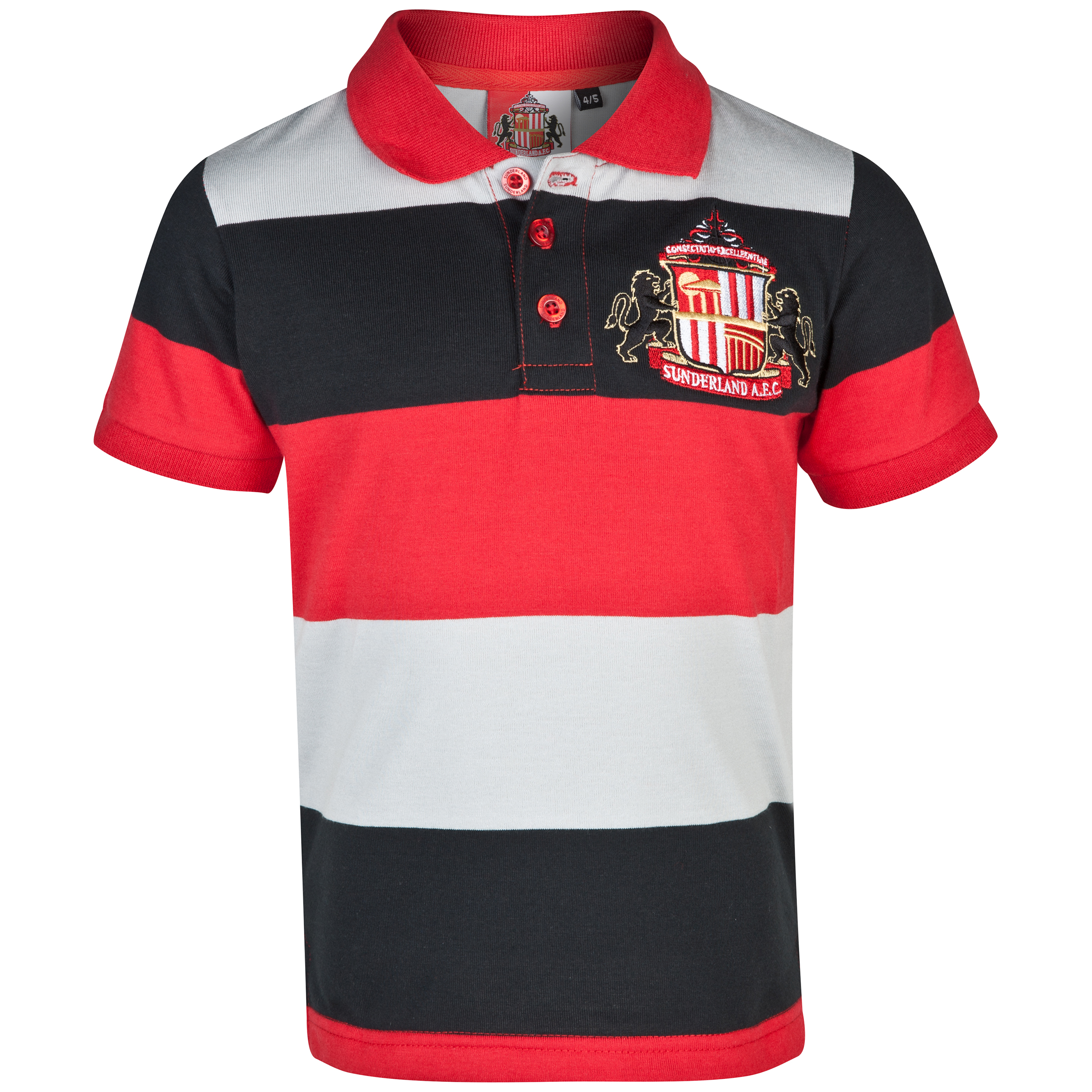 Sunderland Contour Polo Shirt - Infant Boys Red