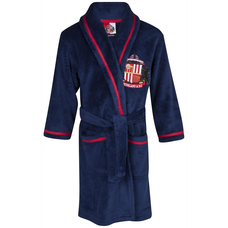 Sunderland Robe Boys Navy