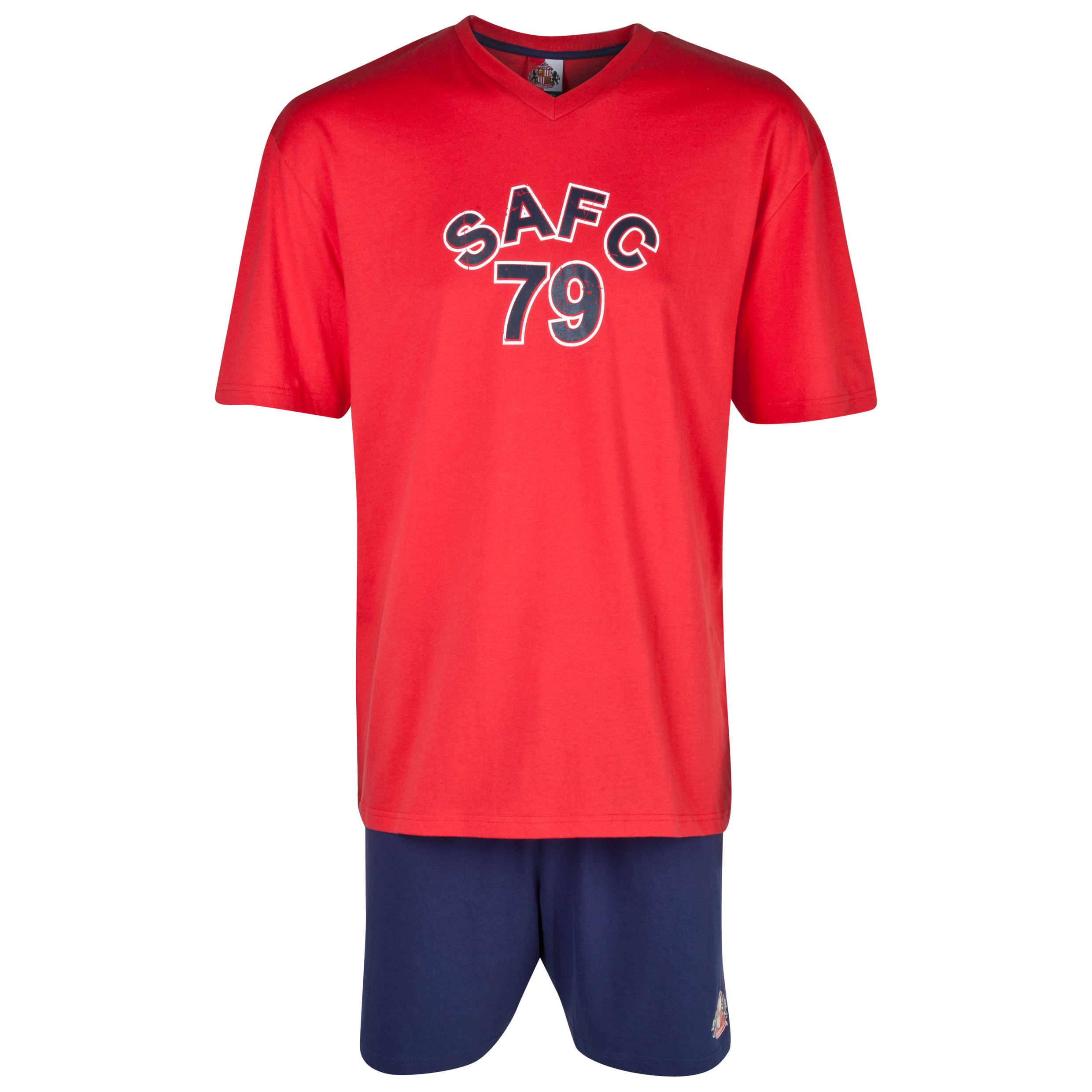 Sunderland Short Pyjamas Mens Red