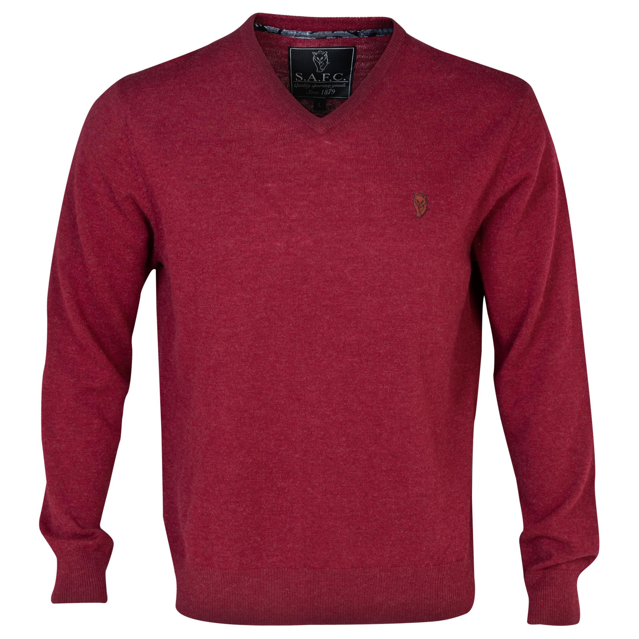 Sunderland Lambswool jumper Red