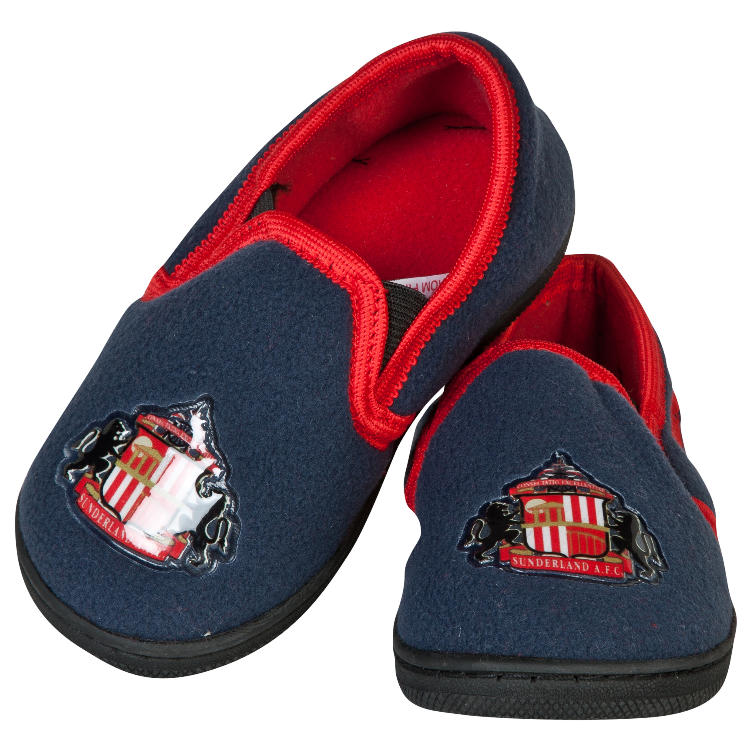 Sunderland Joshua Slippers - NavyRed - Boys Navy