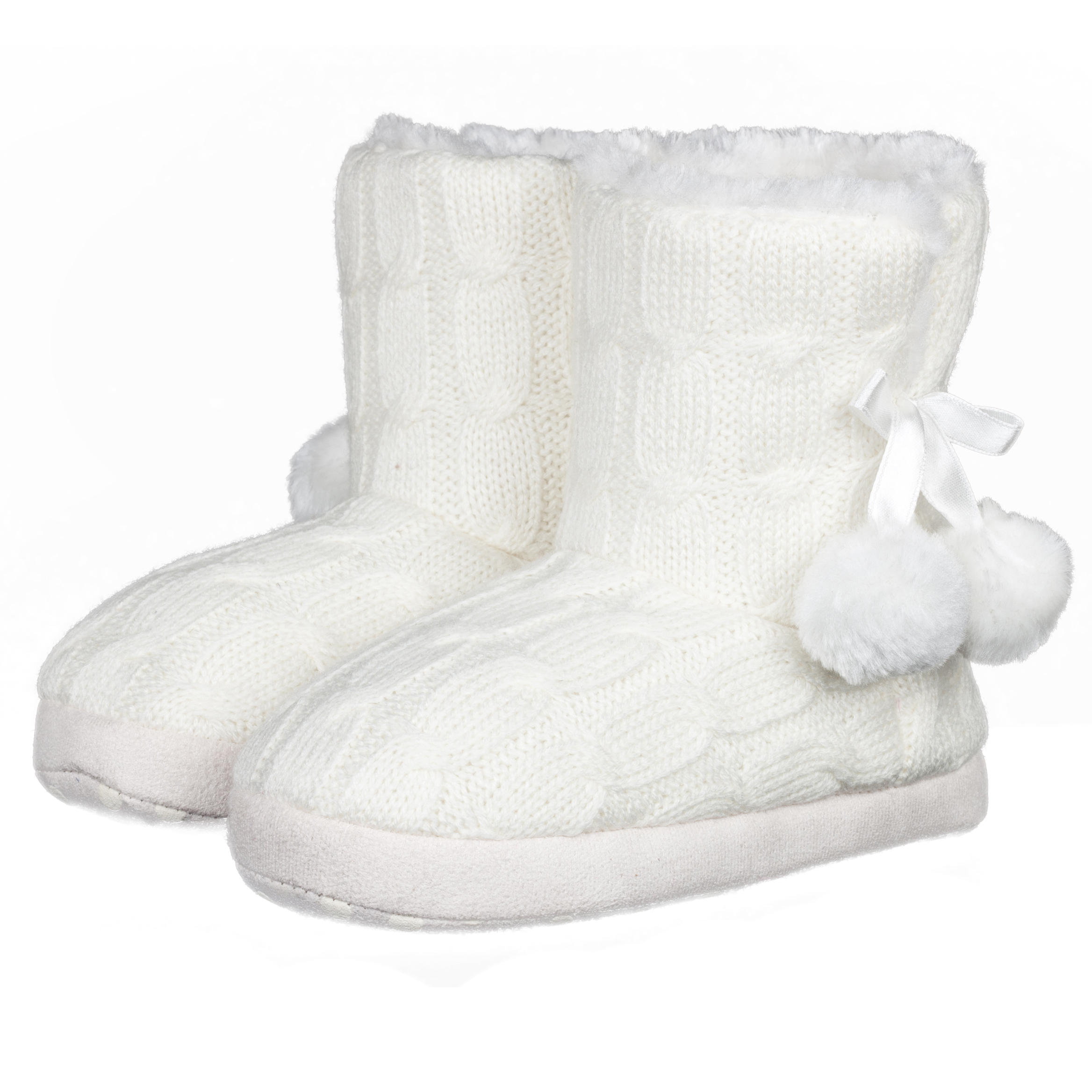 Sunderland Ella Boot Slippers - Cream - Girls Cream