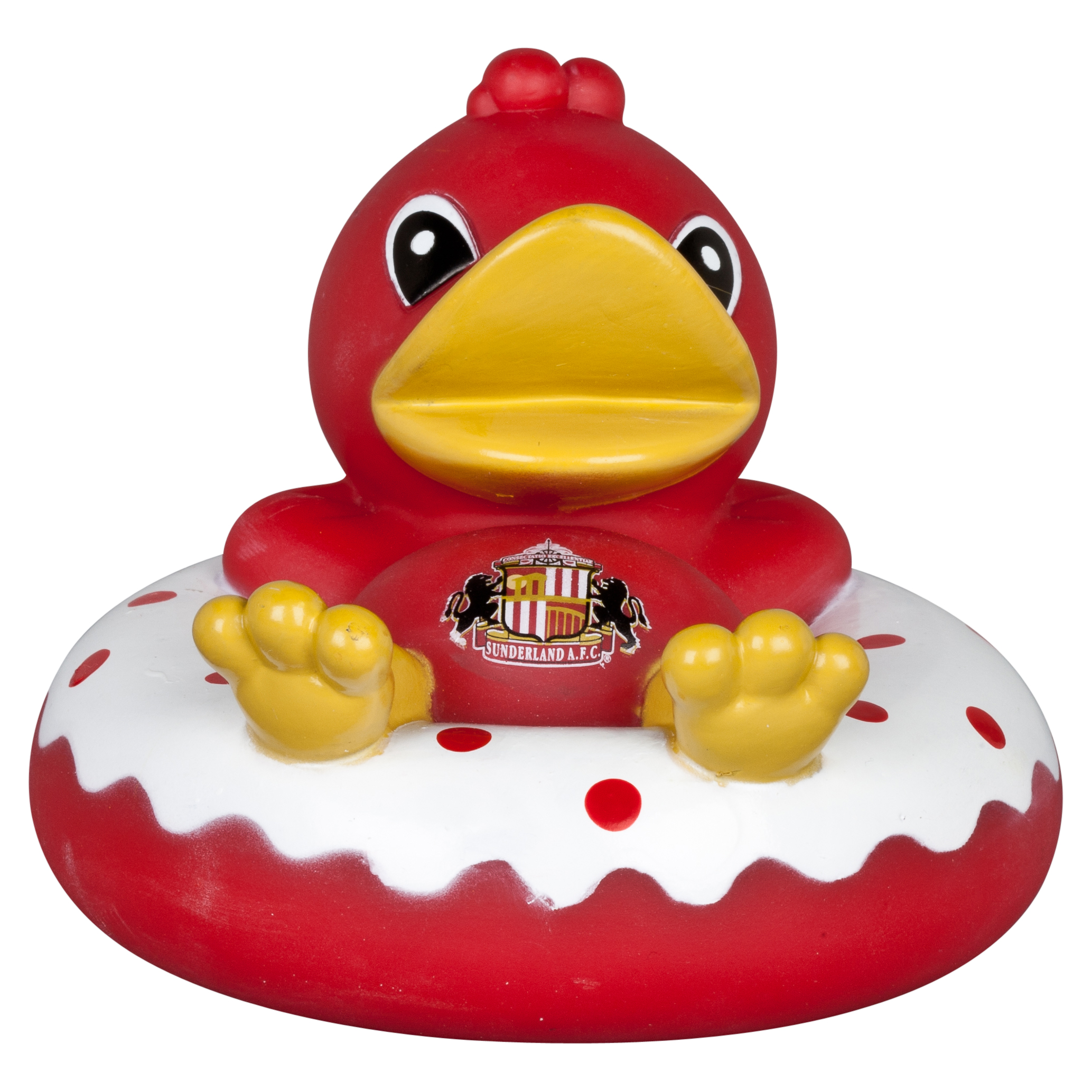 Sunderland Rubber Ring Vinyl Bath Duck