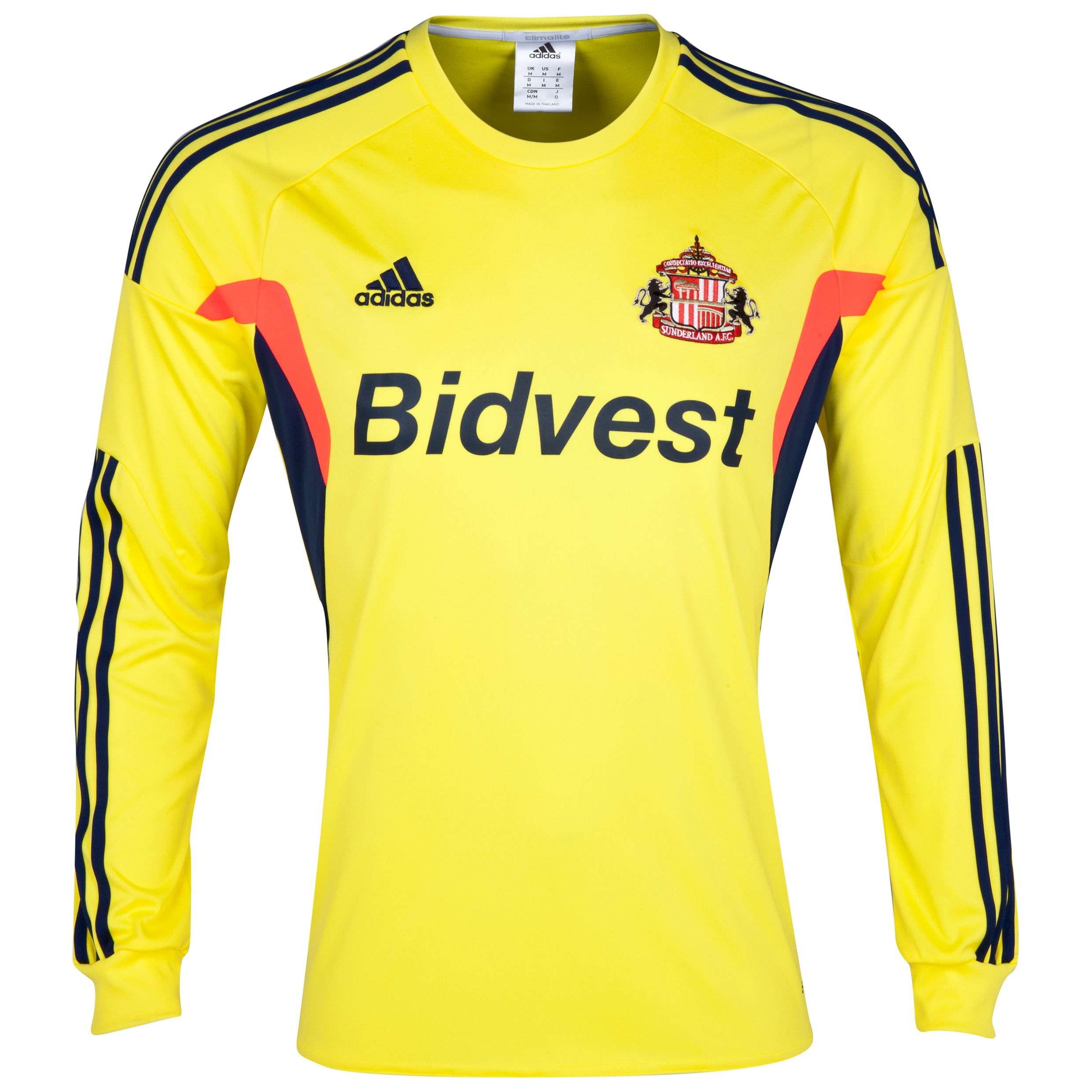 Sunderland Away Shirt 2013/14 - Long Sleeved